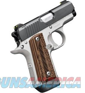 Kimber Micro Carry Rosewood Two-Tone .380 ACP Guns > Pistols >  Kimber of America Pistols > Micro