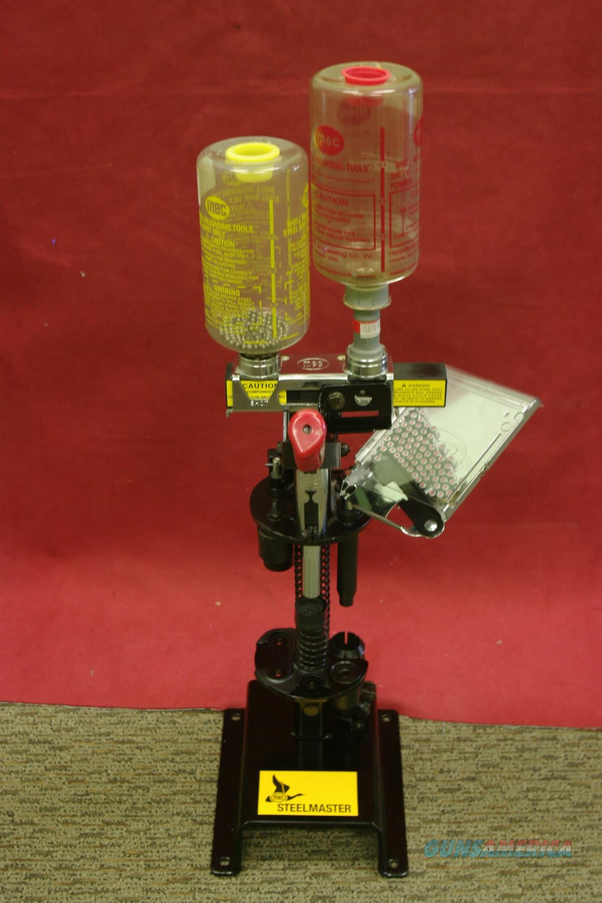 MEC SteelMaster 12 Gauge ShotShell Reloader  Non-Guns > Reloading > Equipment > Shotshell > Presses
