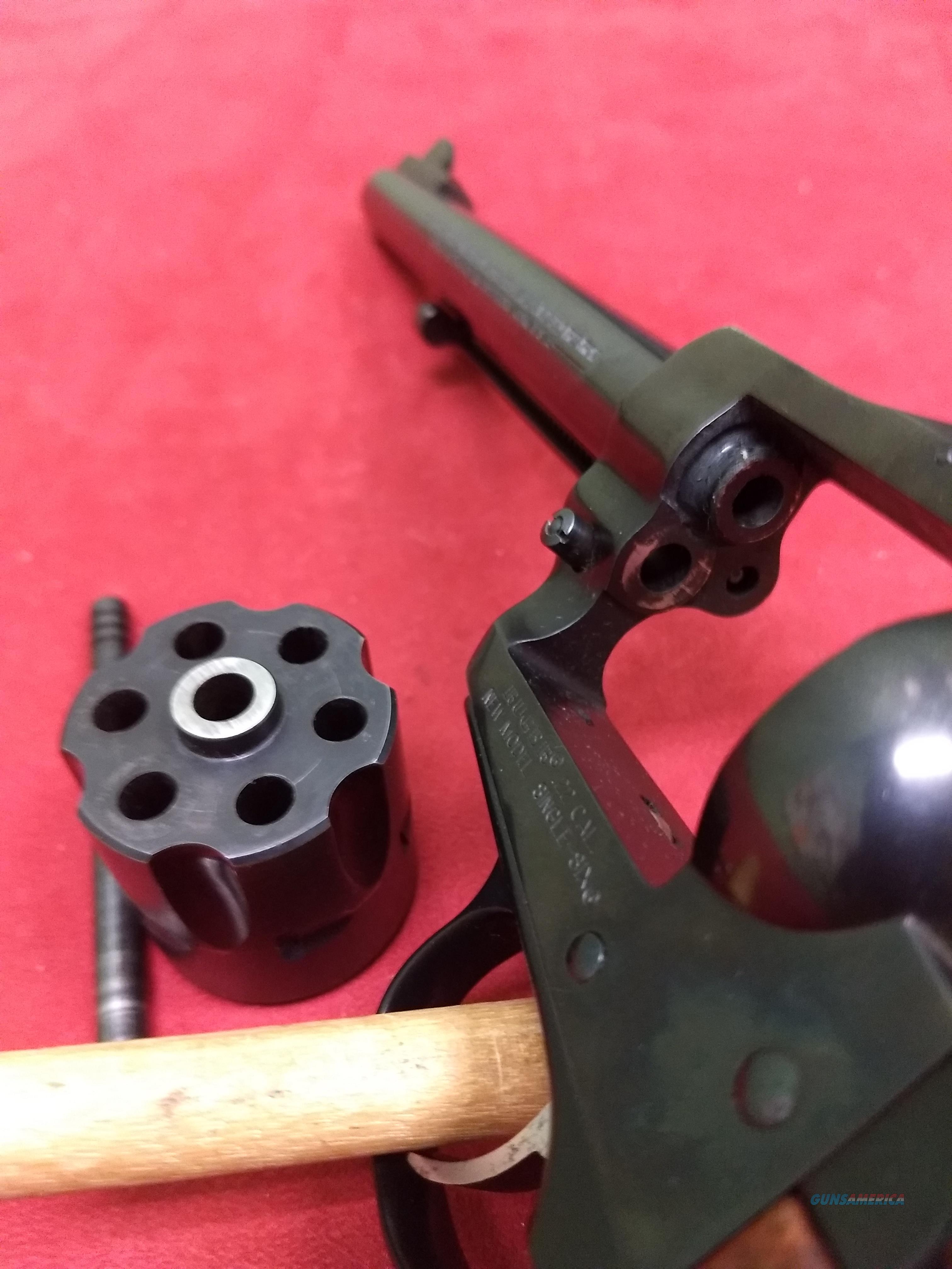 Ruger New Model Single Six Revolver, .22LR  Guns > Pistols > Ruger Single Action Revolvers > Single Six Type