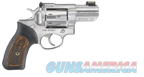 Ruger GP100 7 Shot, .357 Magnum Snubbie  Guns > Pistols > Ruger Double Action Revolver > GP100
