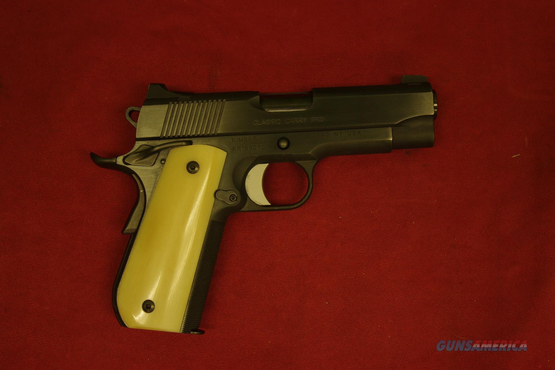 Kimber Classic Carry Pro/Custom Shop  Guns > Pistols > Kimber of America Pistols > 1911