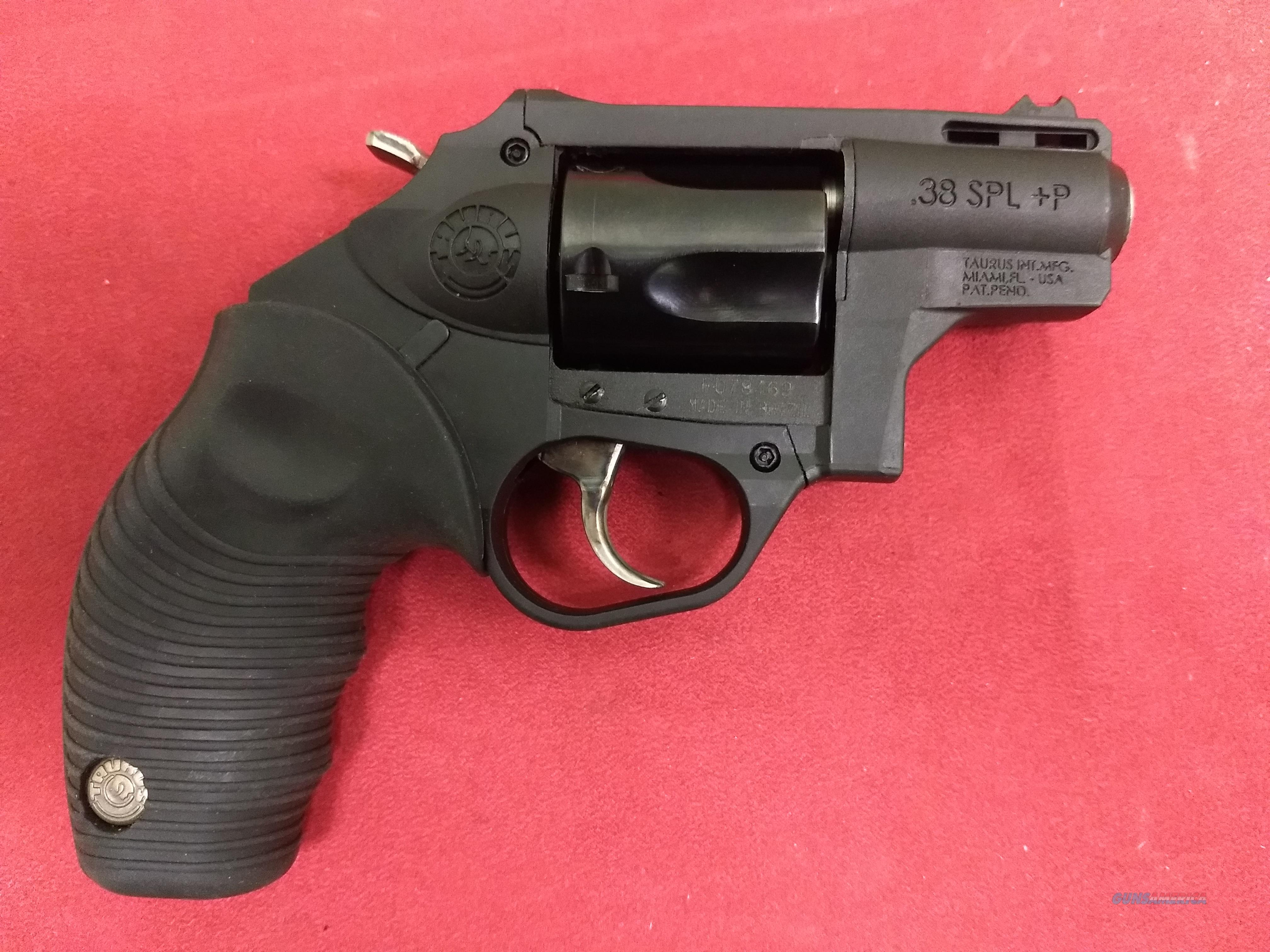 Taurus Protector Poly Revolver, 5 shot, .38 Spl+P, Like New!  Guns > Pistols > Taurus Pistols > Revolvers