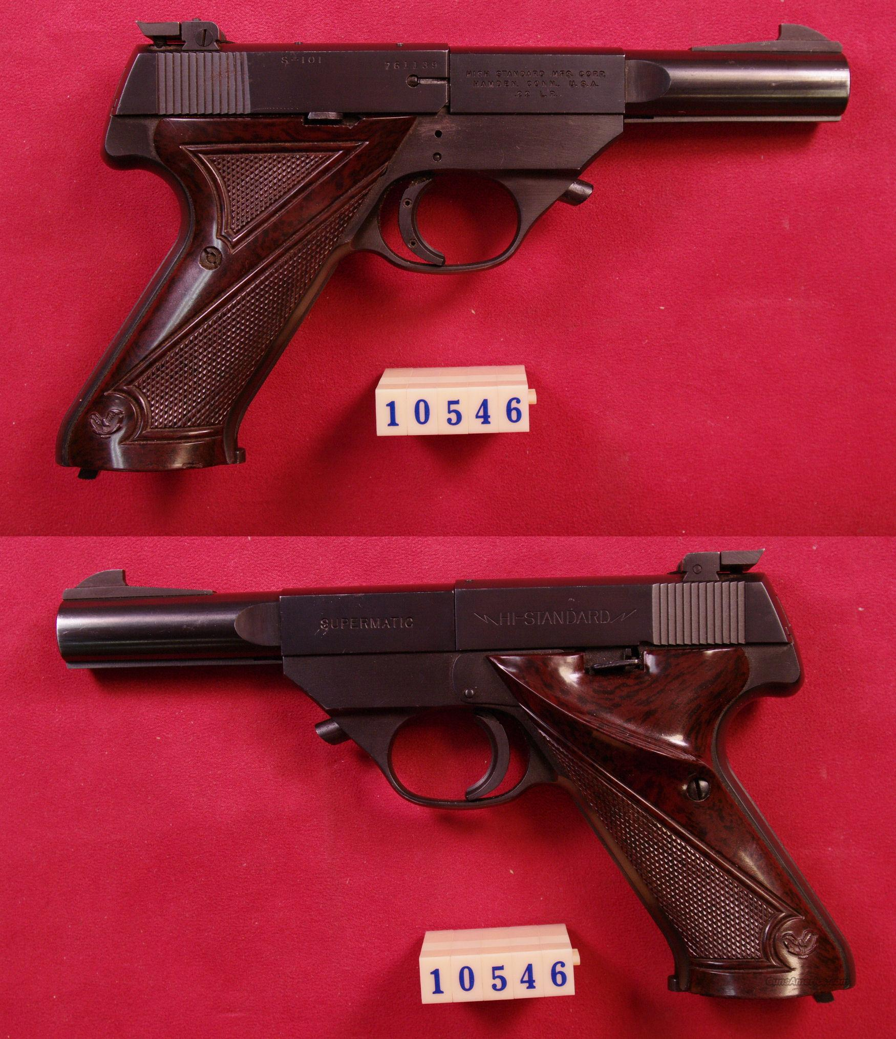 Hi-Standard S-101 .22 LR *MUST CALL*  Guns > Pistols > High Standard Pistols