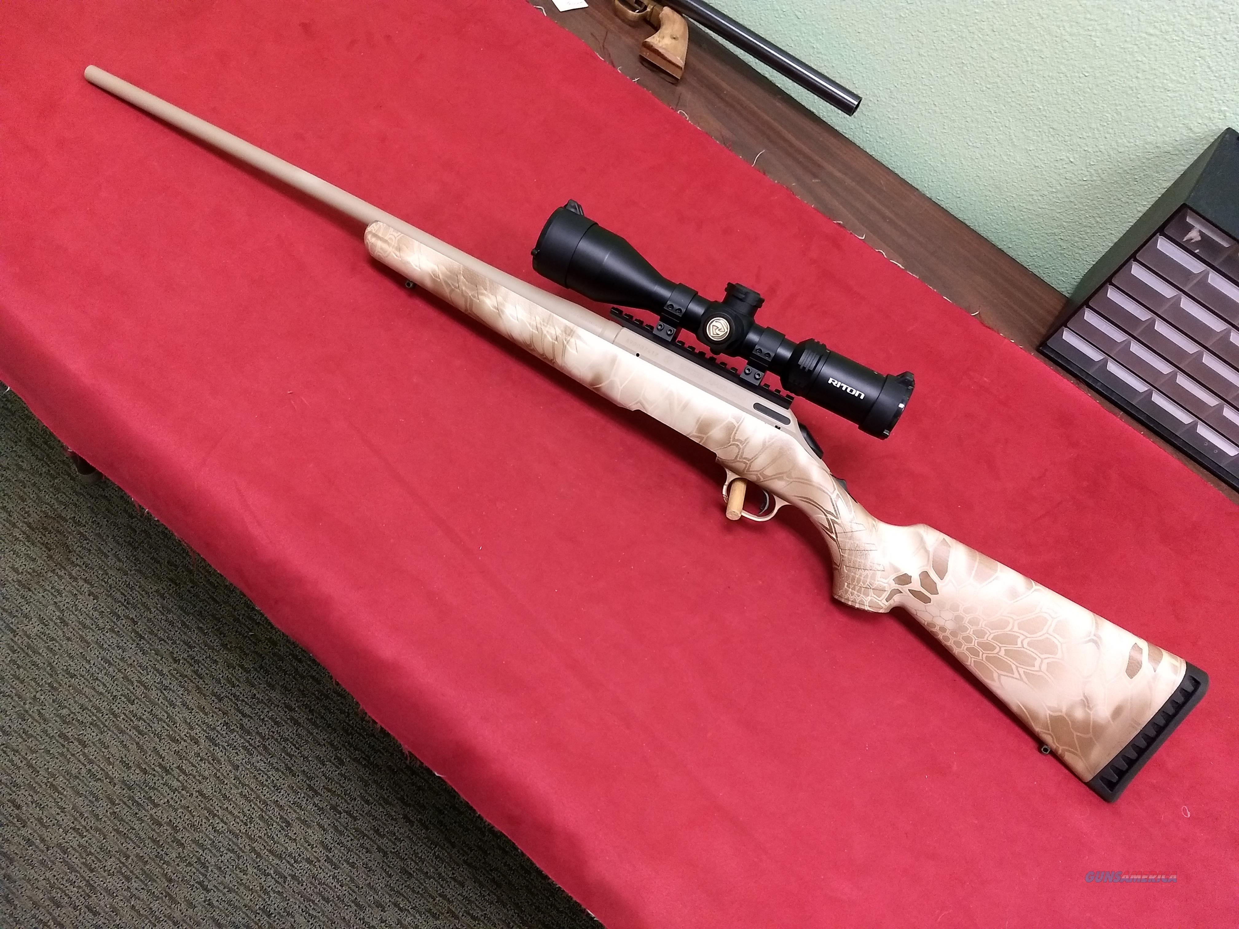 Ruger American rifle in 6.5 Creedmoor w/ Riton 4-16x50 scope  Guns > Rifles > Ruger Rifles > American Rifle