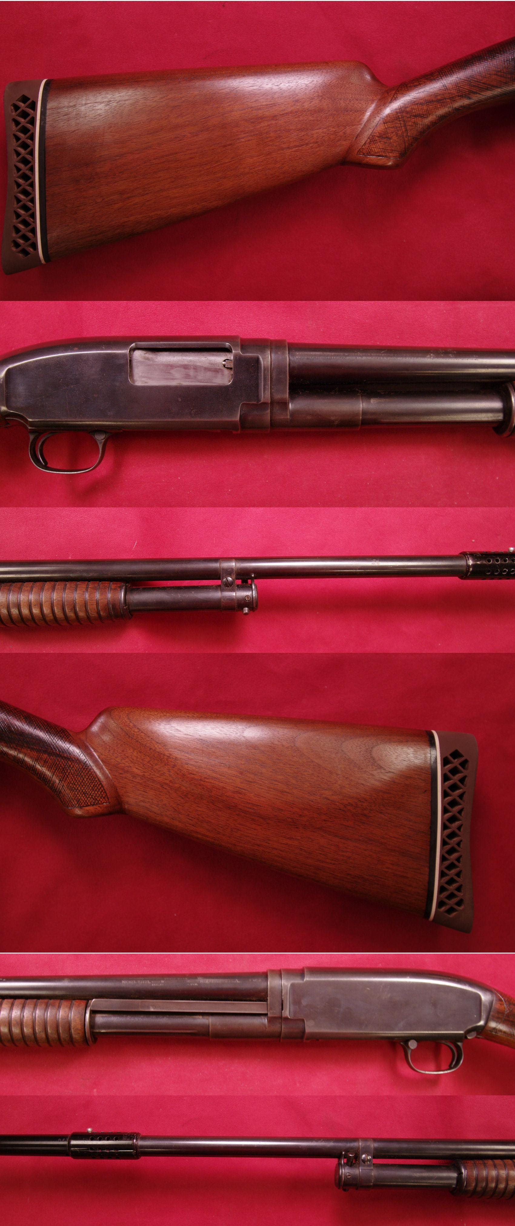 Winchester Model 1912  16 ga  Guns > Shotguns > Winchester Shotguns - Modern > Pump Action > Hunting