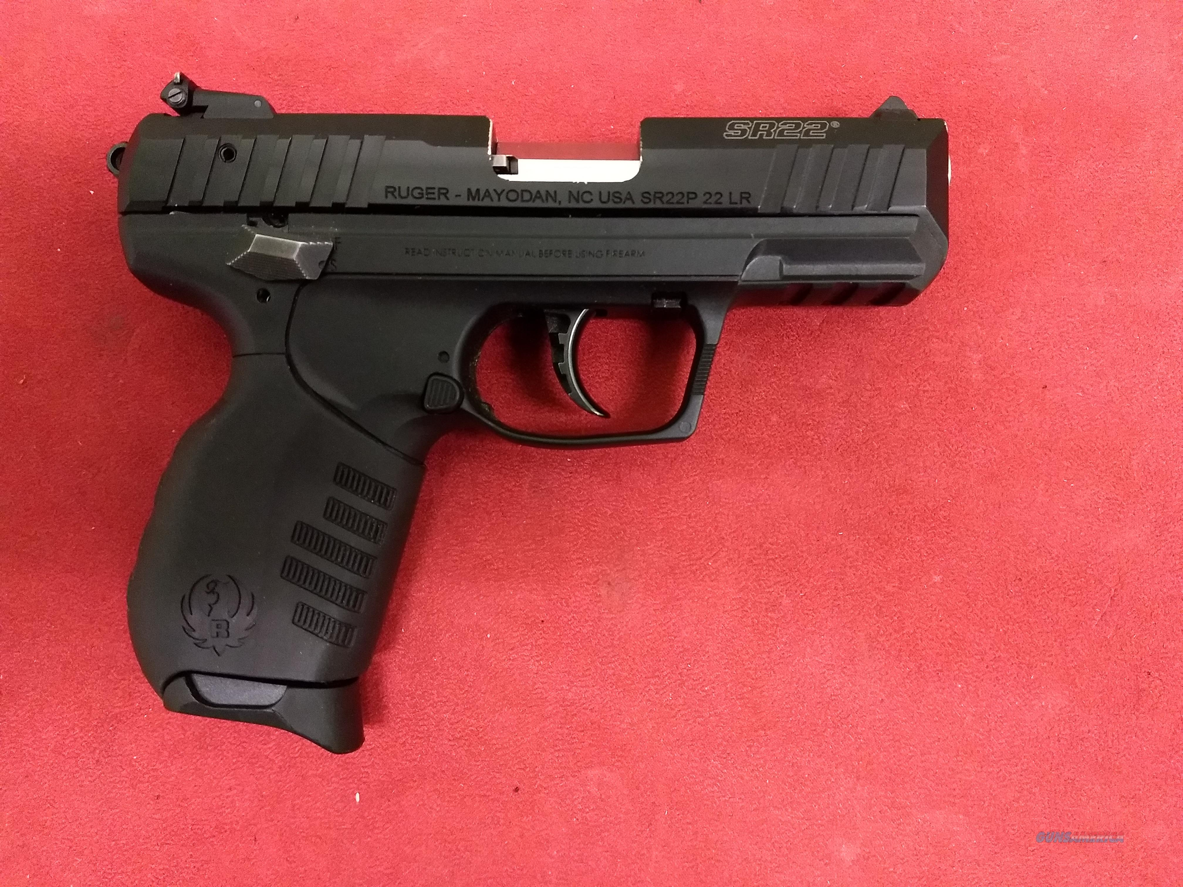 Ruger SR22, .22 LR, Like New!  Guns > Pistols > Ruger Semi-Auto Pistols > SR Family > SR22