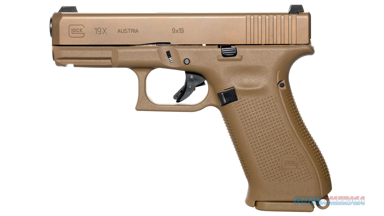 Glock 19x, 9mm, Bronze/Coyote Brown, NIB  Guns > Pistols > Glock Pistols > 19/19X