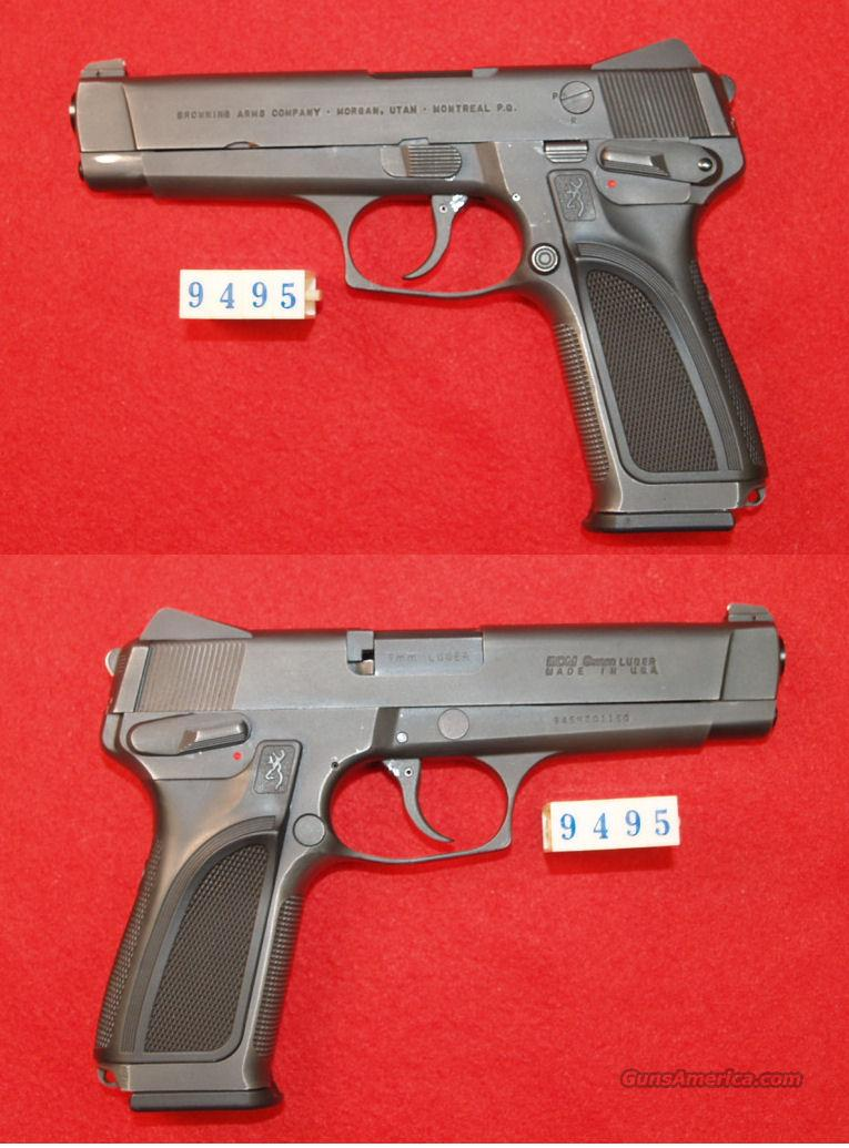 BROWNING BDM  9MM  Guns > Pistols > Browning Pistols > Other Autos