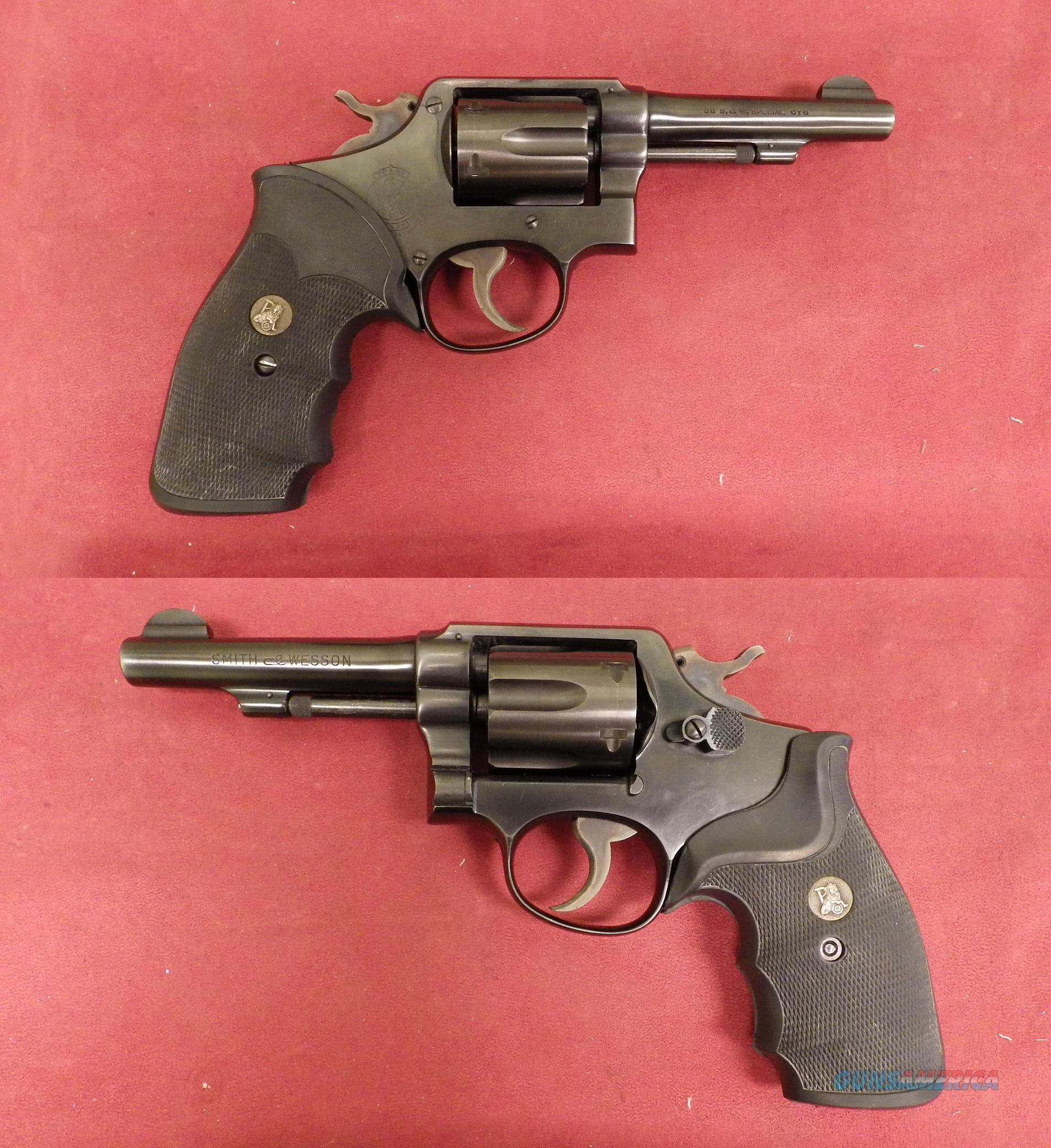 Smith & Wesson M&P .38 Special  Guns > Pistols > Smith & Wesson Revolvers > Pre-1945