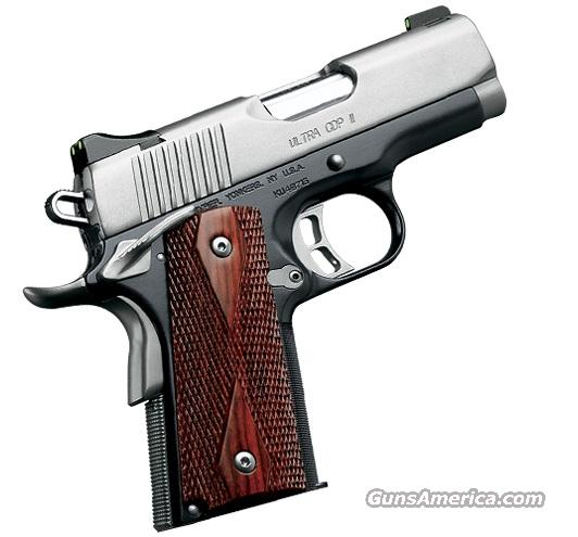 Kimber Ultra CDP II .45ACP  With Nite Sights  Guns > Pistols > Kimber of America Pistols