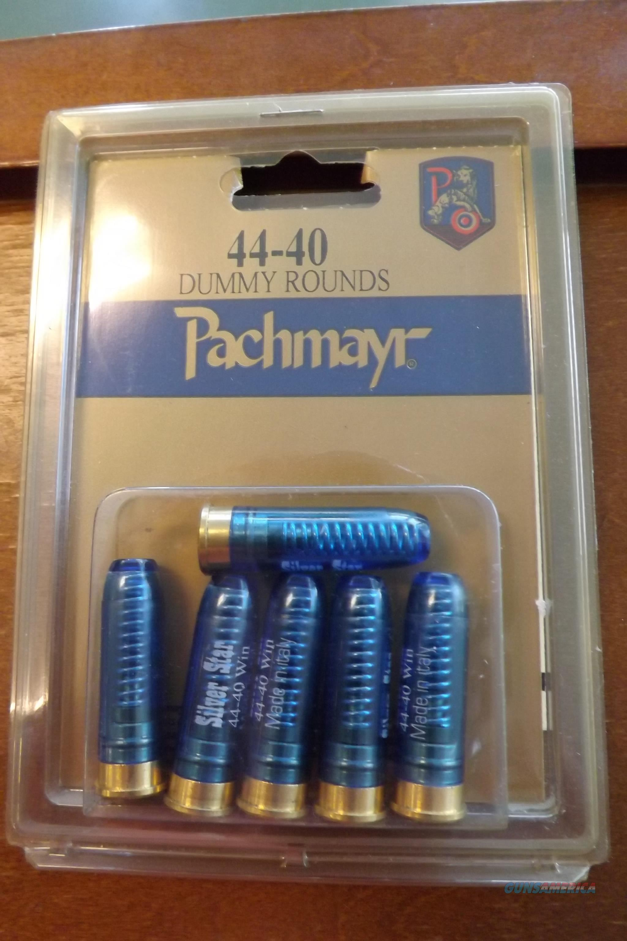 44-40 Snap Caps, Pachmayr, Package of Six  Non-Guns > Miscellaneous