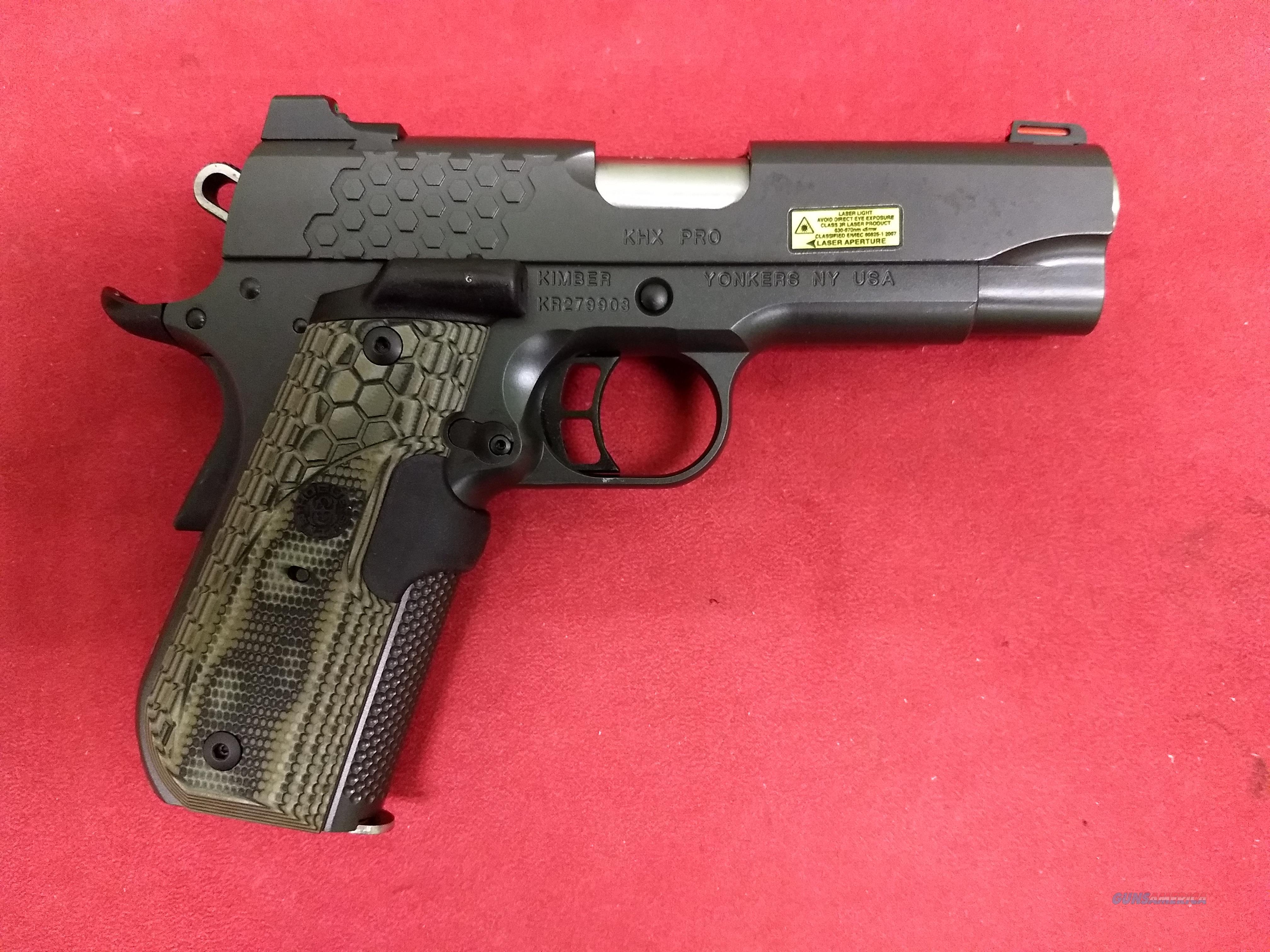 Kimber KHX Pro 1911, .45 ACP, NIB  Guns > Pistols > Kimber of America Pistols > 1911