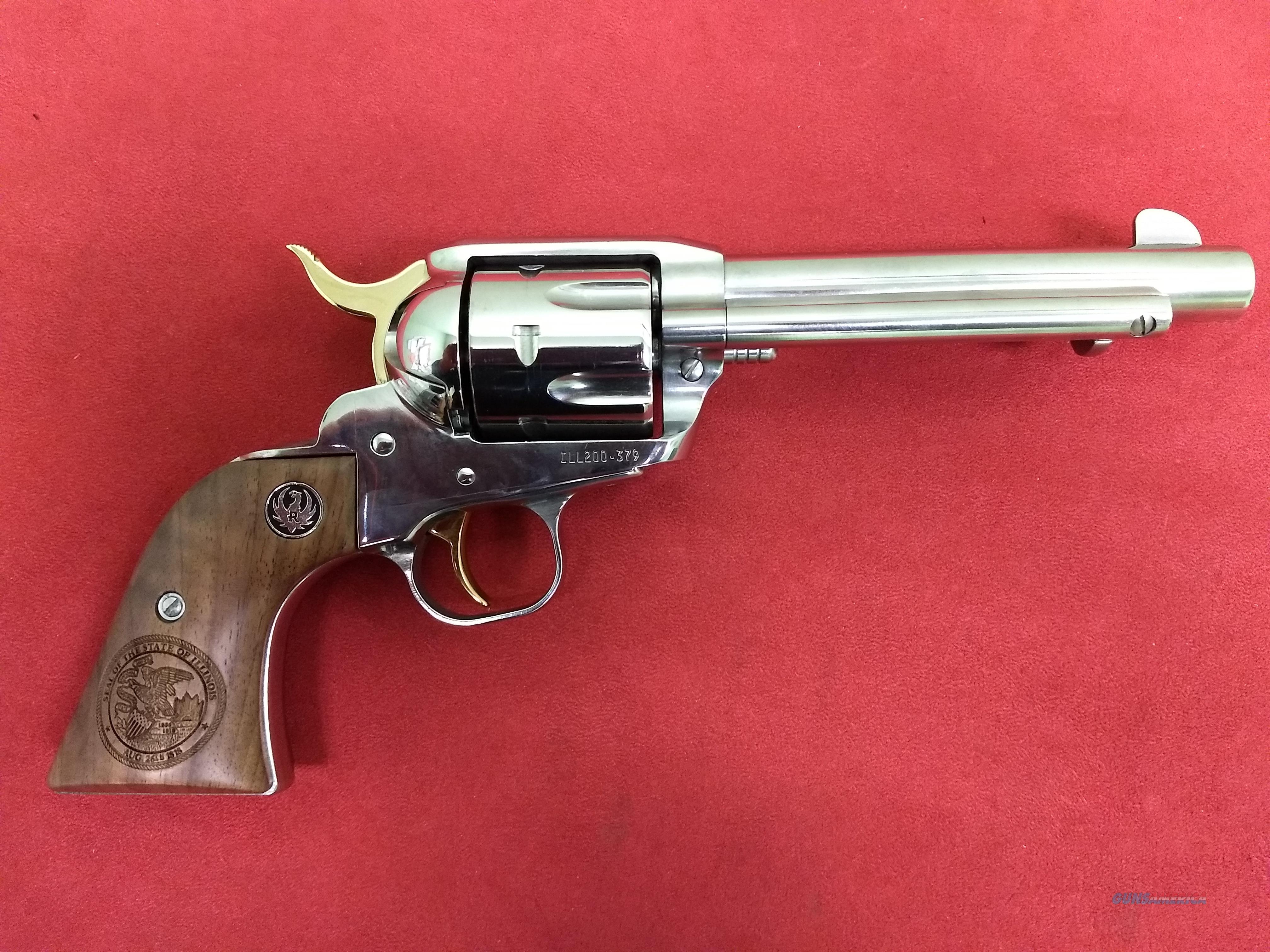 Ruger Illinois Bicentennial Limited Edition New Vaquero, 45 Colt, NIB  Guns > Pistols > Kimber of America Pistols