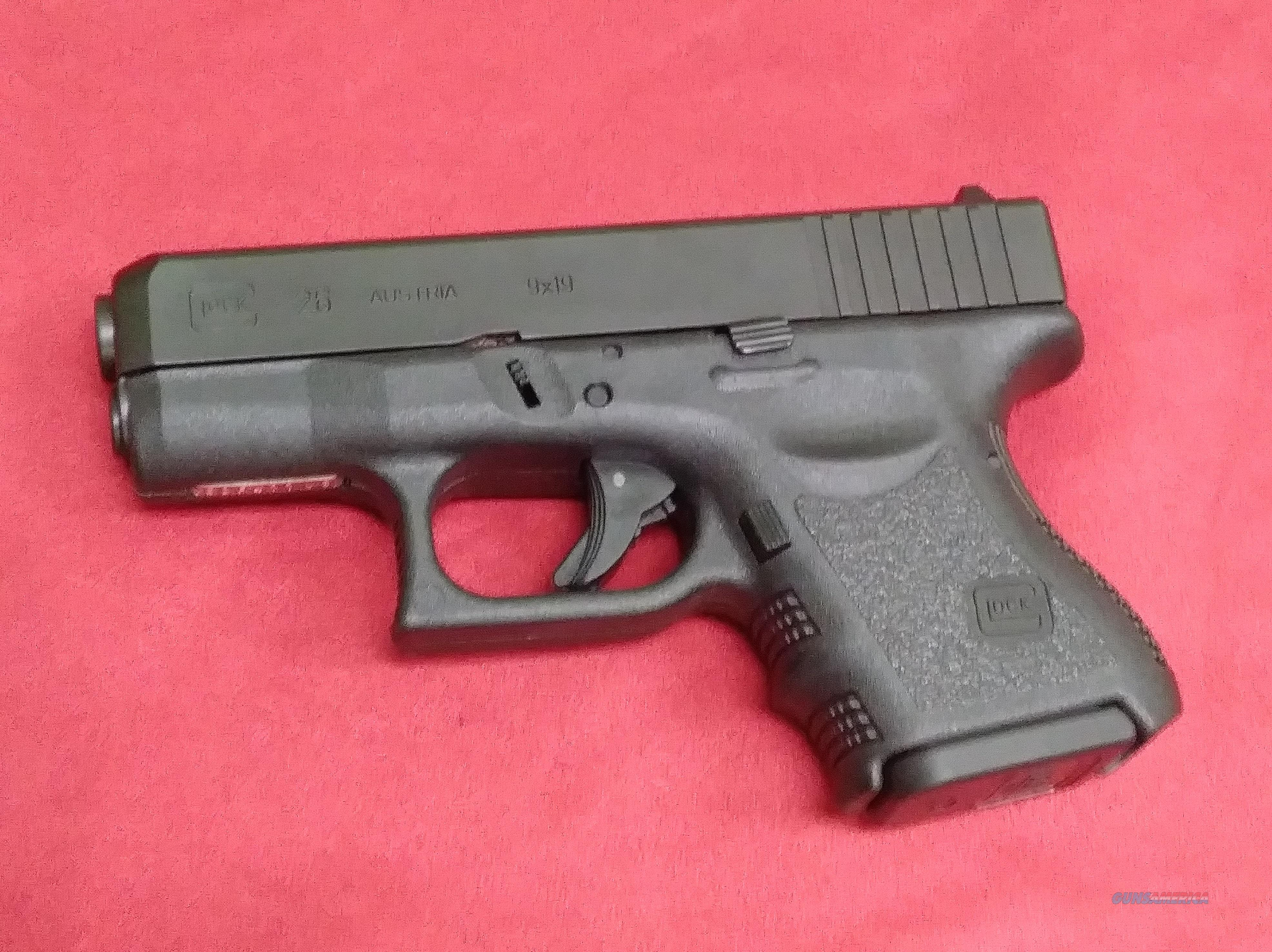 Glock 26 Gen 3, 9mm Cal, Fixed Sights, Previously Owned  Guns > Pistols > Glock Pistols > 26/27