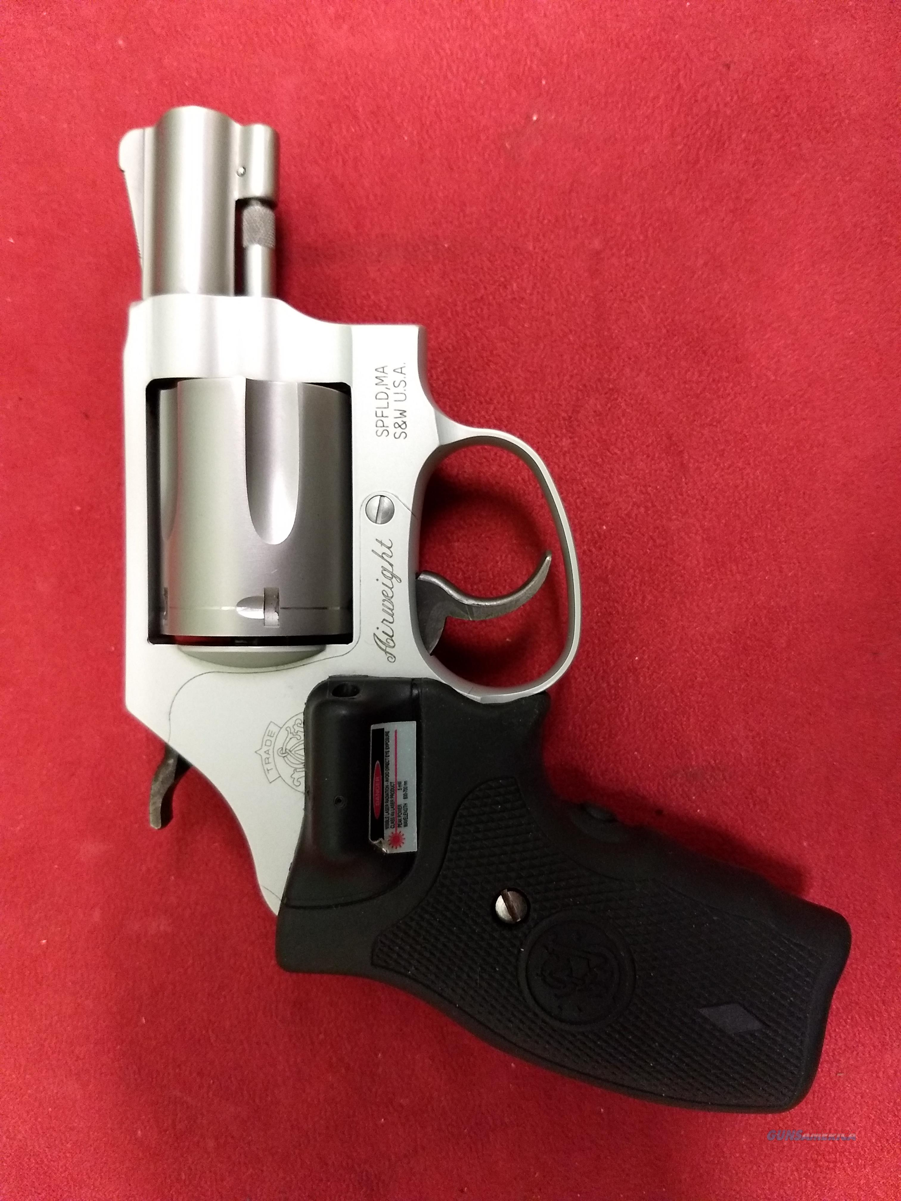 S&W 637-2 w/ Crimson Trace laser grips  Guns > Pistols > Smith & Wesson Revolvers > Small Frame ( J )