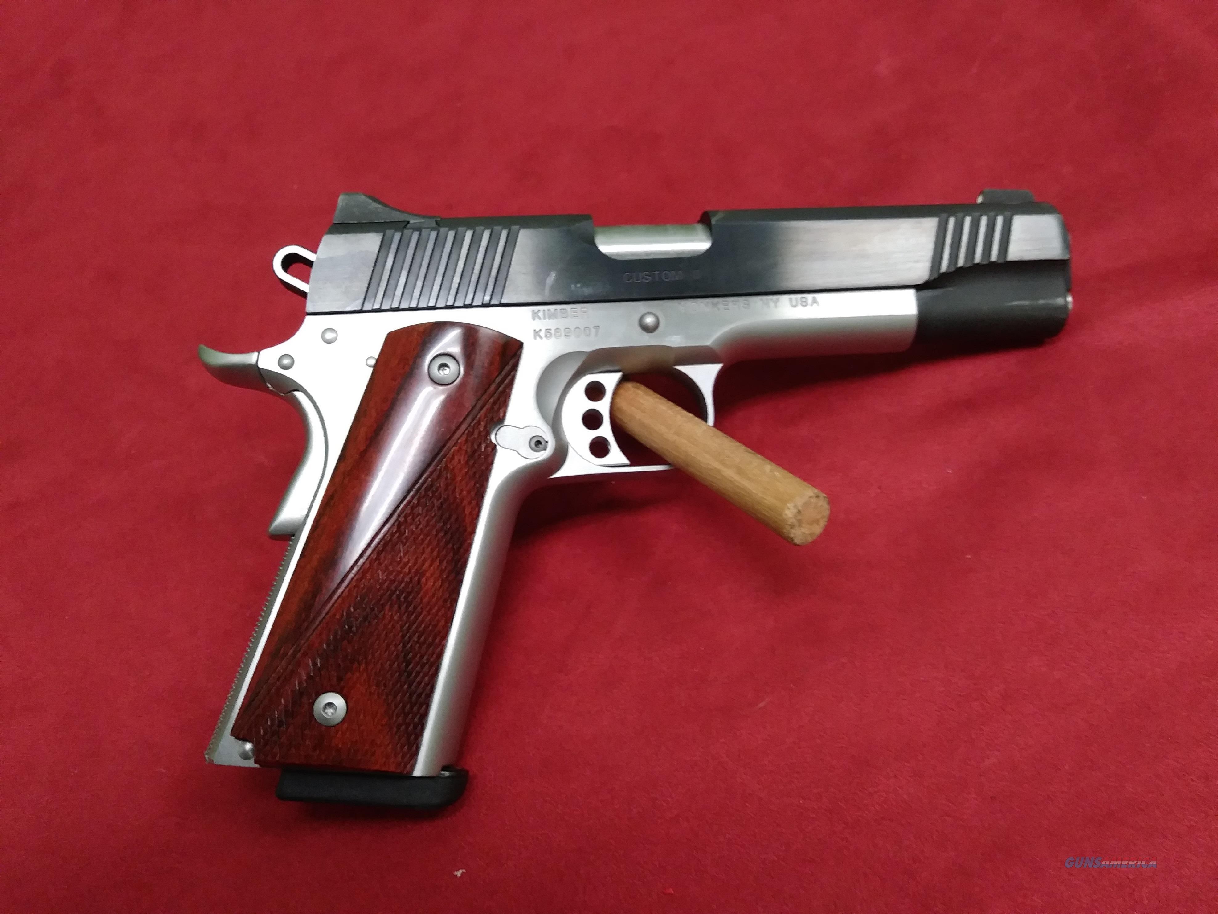Kimber Custom II, .45 ACP   Guns > Pistols > Kimber of America Pistols > 1911