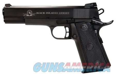 Armscor Rock Island 1911A2 Standard .22 TCM/9mm  *MUST CALL* for availability  Guns > Pistols > Rock Island Armory Pistols > Rock Island