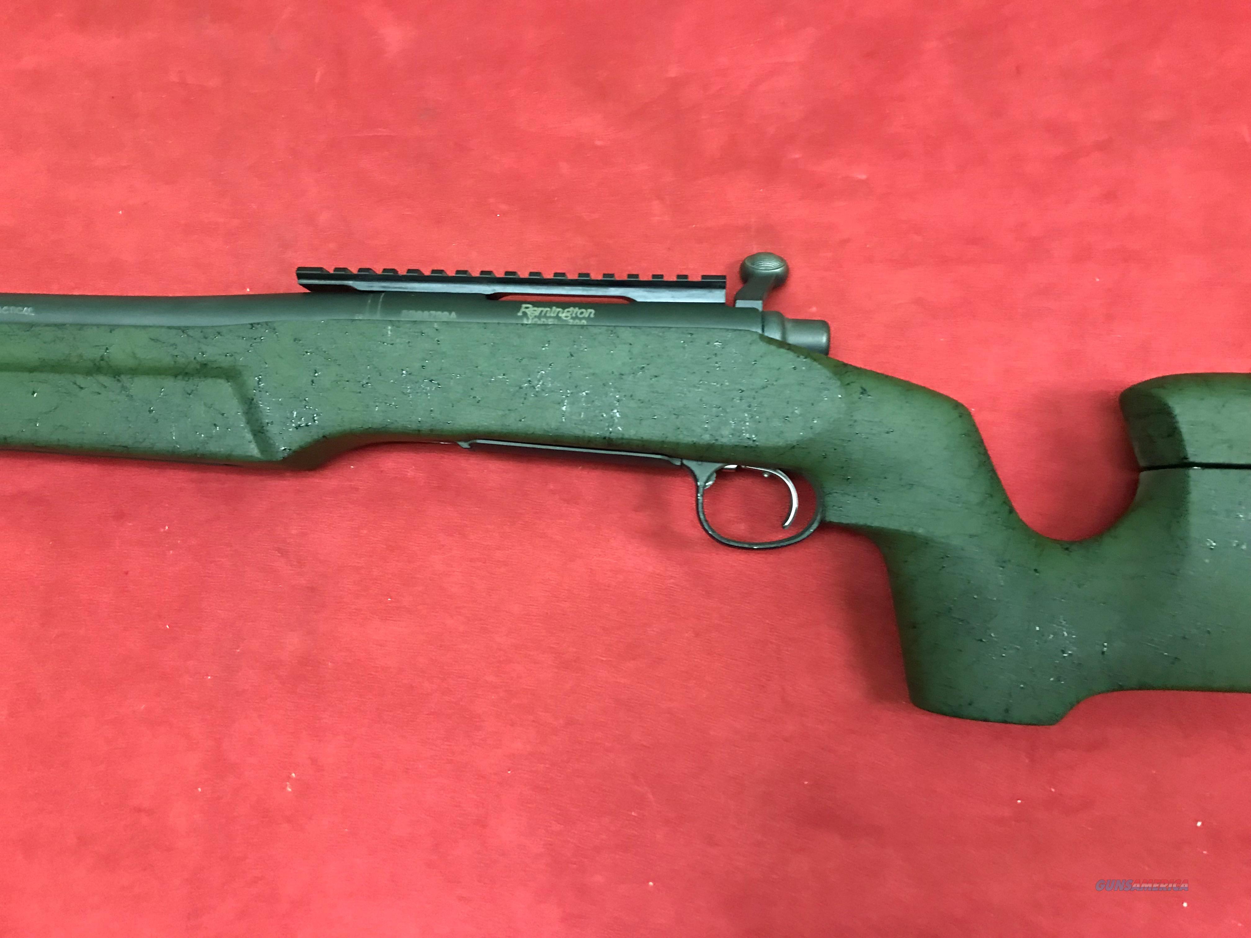 Remington 700 w/Custom stock, .308 win.  Guns > Rifles > Remington Rifles - Modern > Model 700 > Tactical