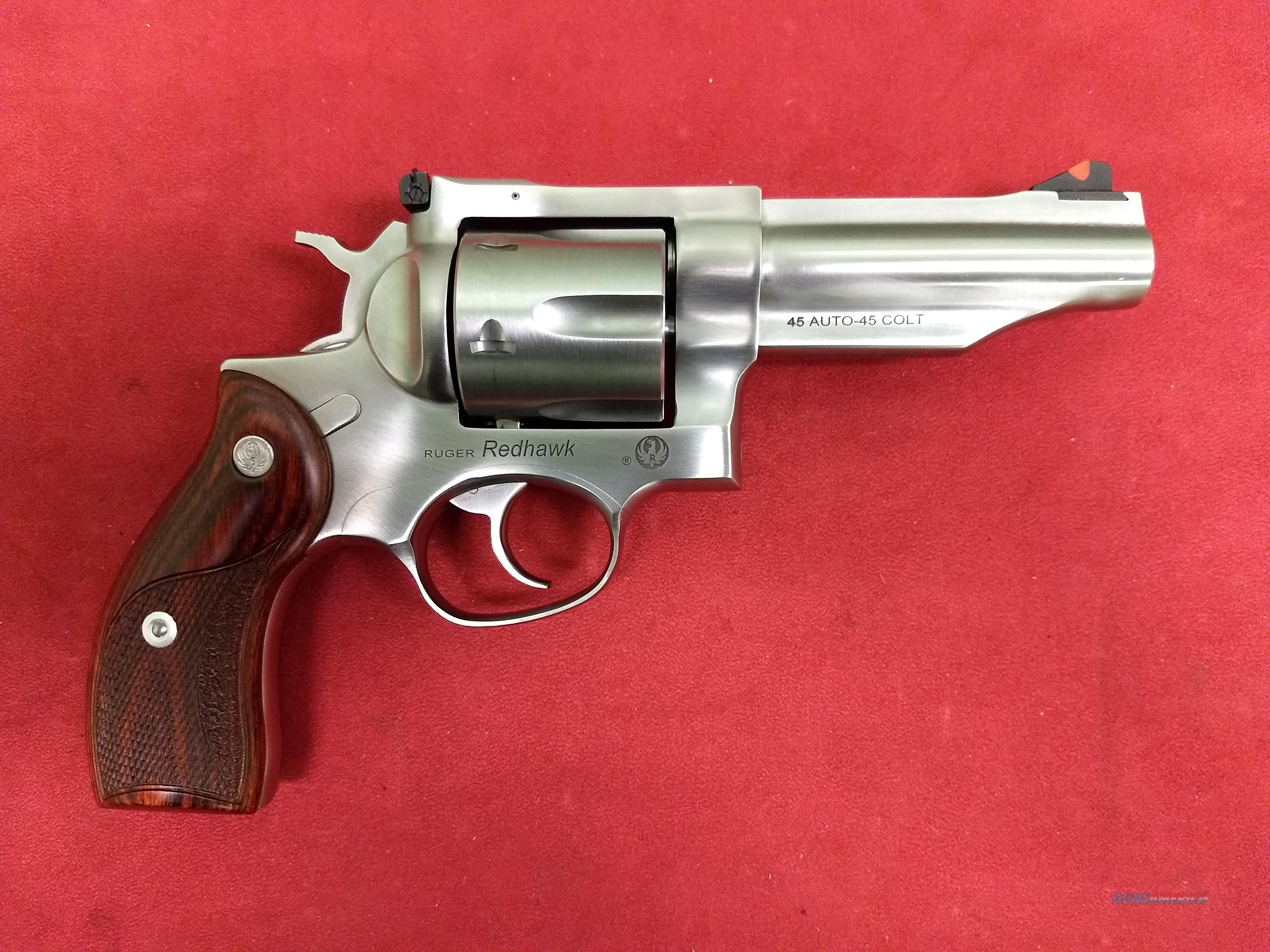 Ruger Redhawk in 45 ACP & 45 Colt, Like New!  Guns > Pistols > Ruger Double Action Revolver > Redhawk Type
