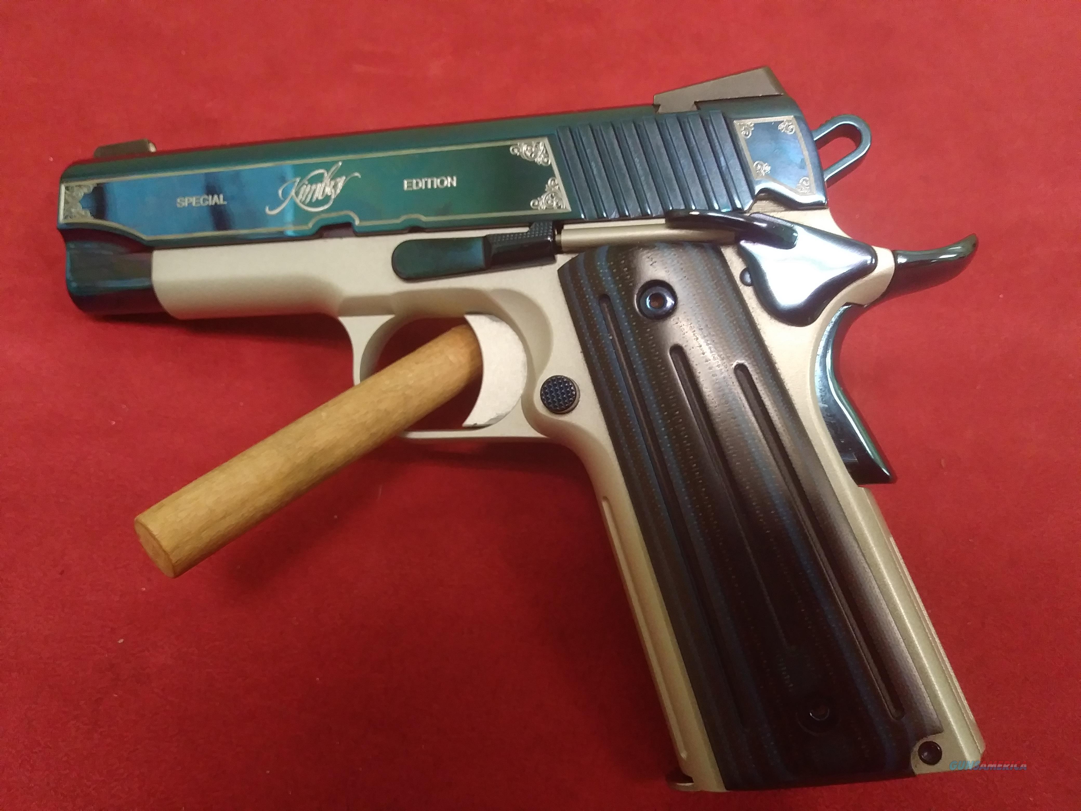 Kimber Sapphire Pro II, 9mm, 4 Magazines, Holster  Guns > Pistols > Kimber of America Pistols > 1911