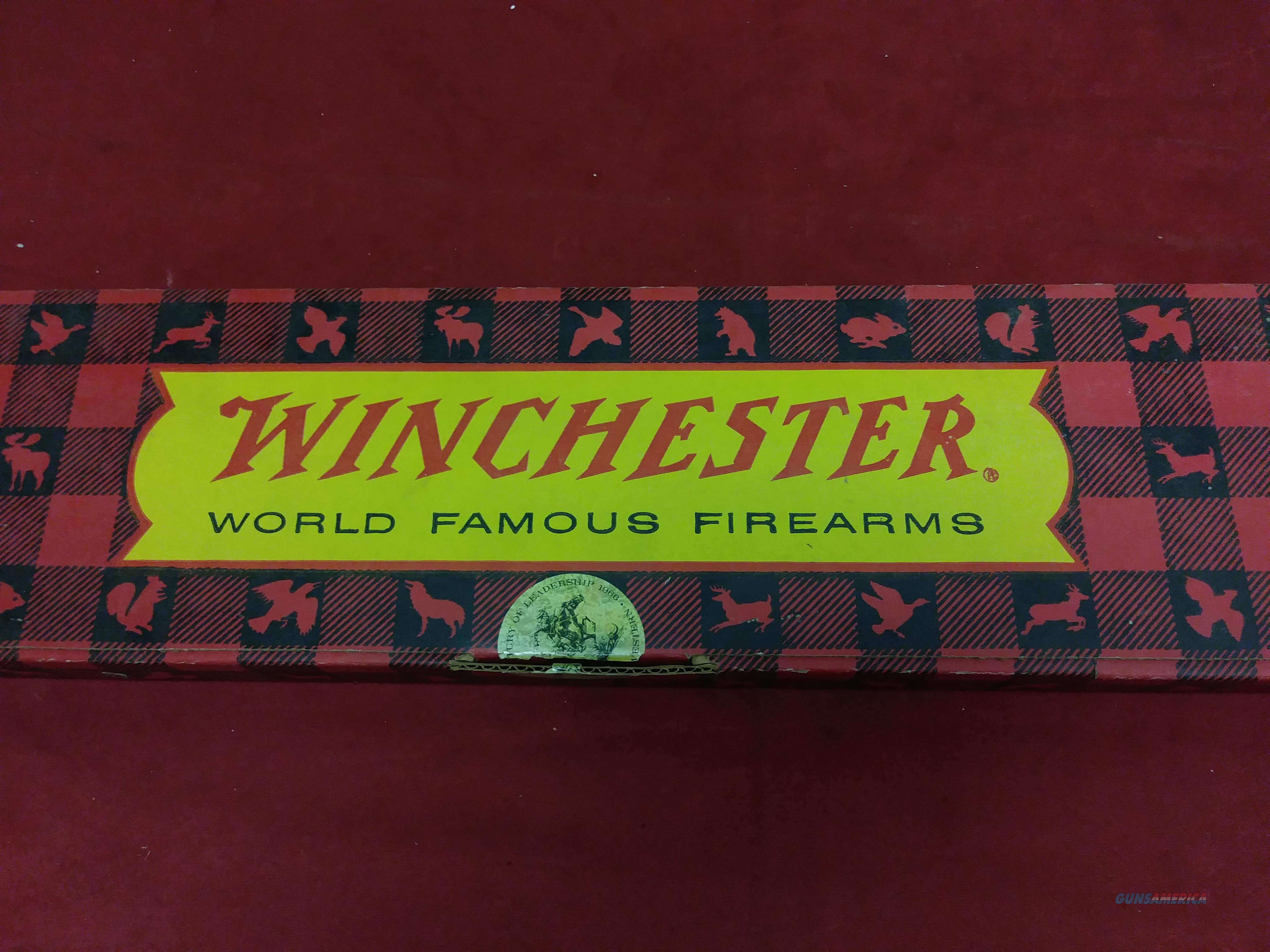Winchester '67 Canadian Centennial Carbine Box Only *No Gun*  Non-Guns > Gun Cases