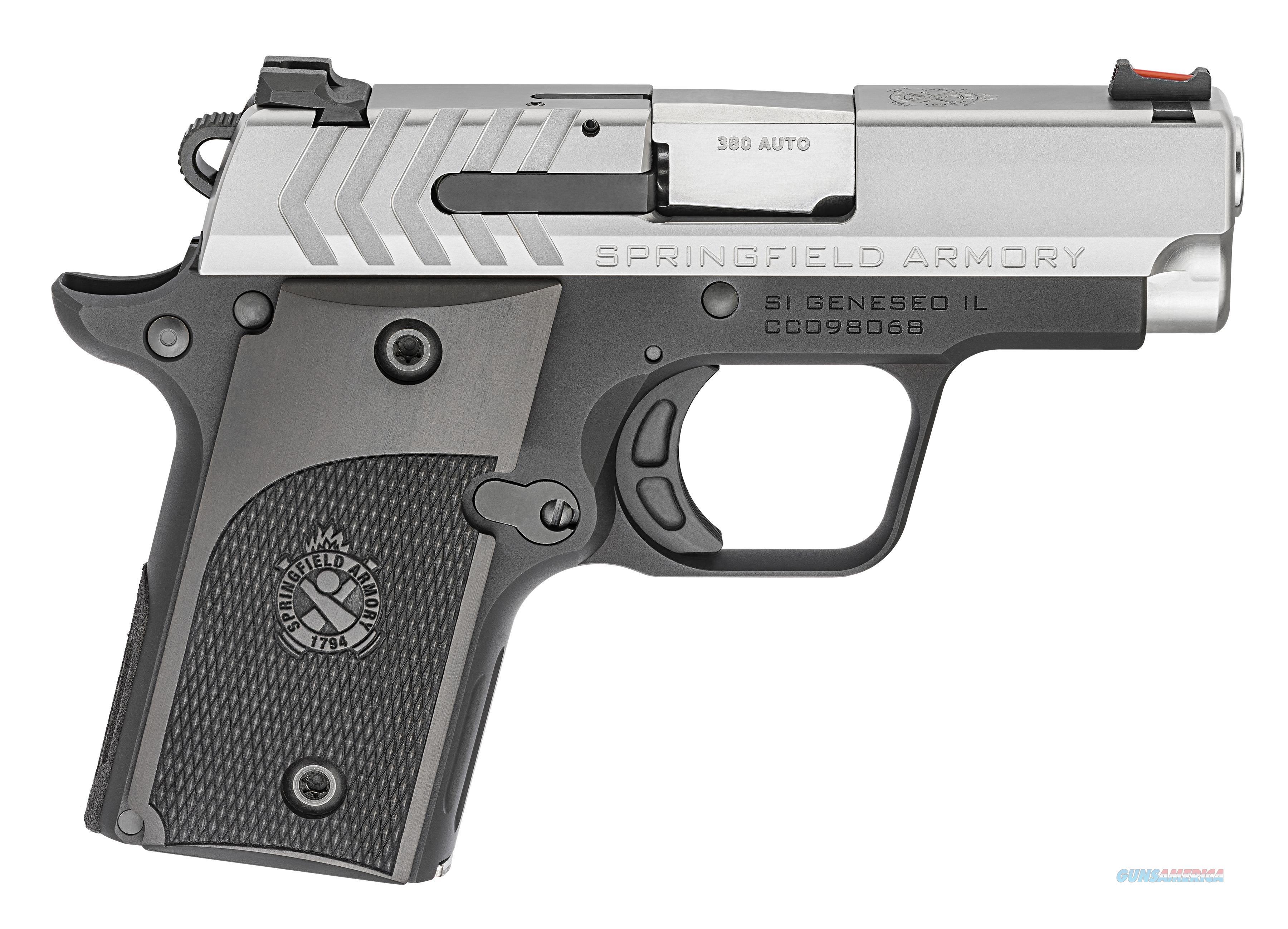 Springfield Armory 911 Alpha Stainless , .380 ACP, NIB  Guns > Pistols > Springfield Armory Pistols > 911