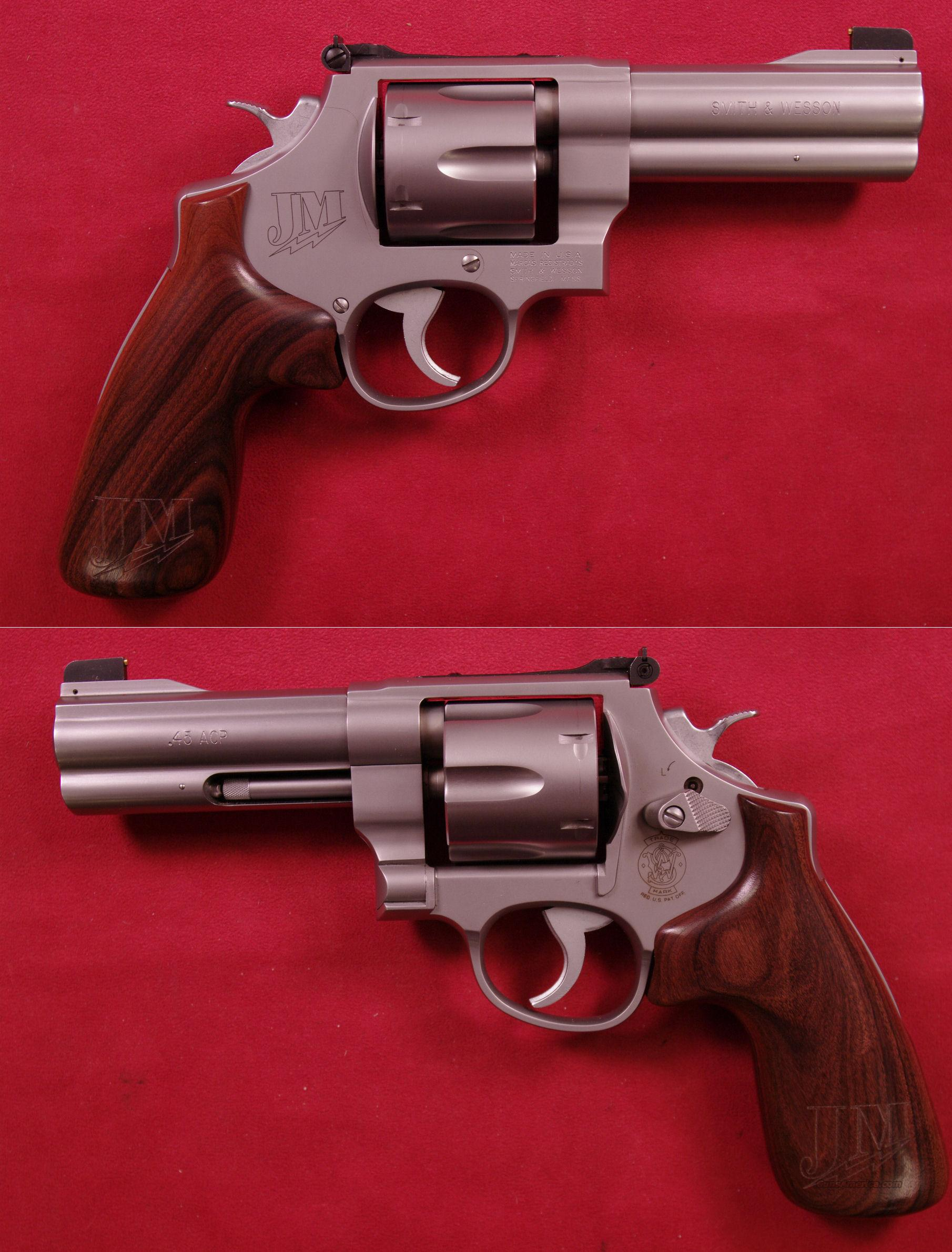 Smith & Wesson Model 625 JM .45ACP  Guns > Pistols > Smith & Wesson Revolvers > Performance Center