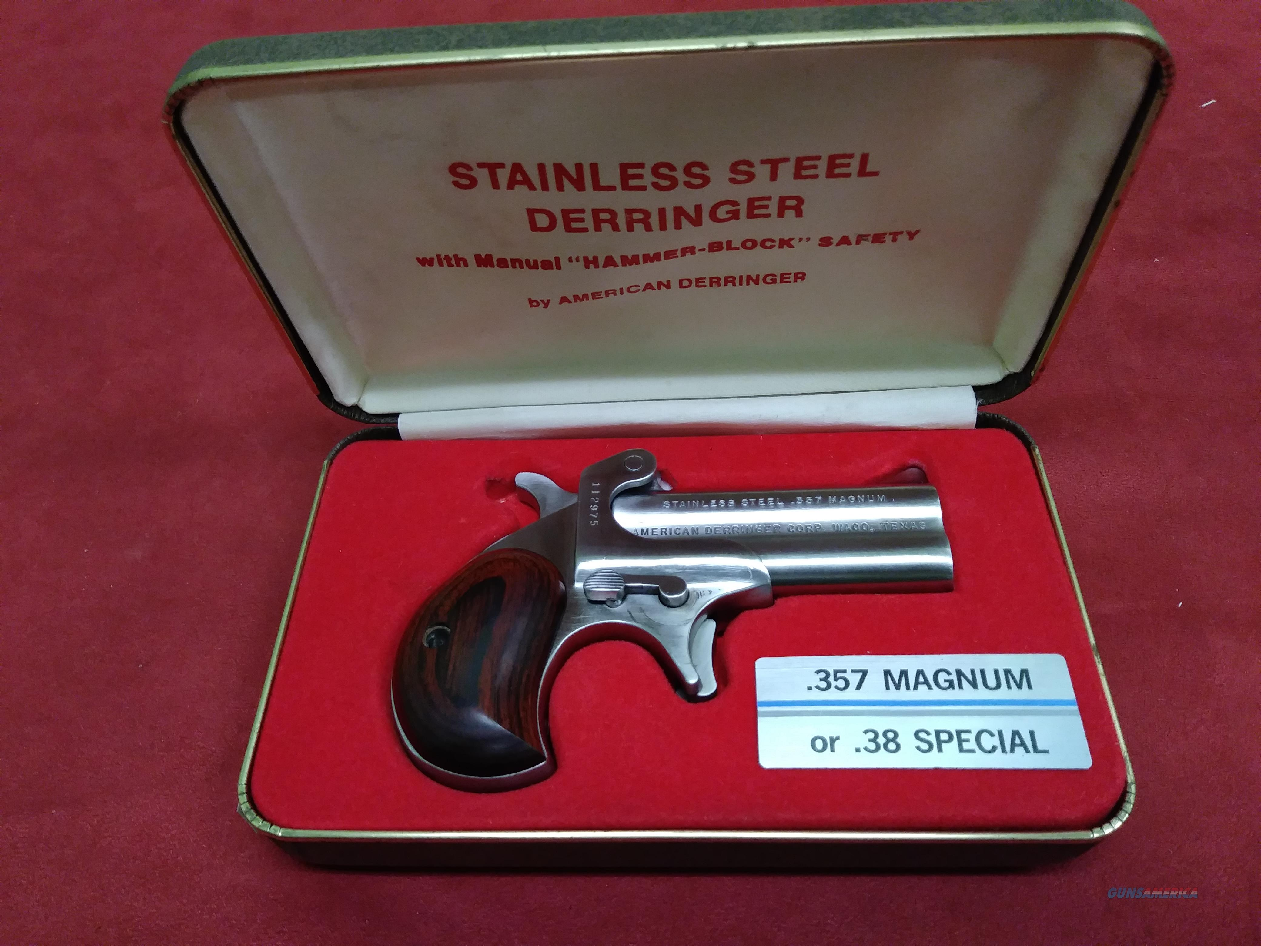 American Derringer Corp., .357 Magnum  Guns > Pistols > Derringer Modern