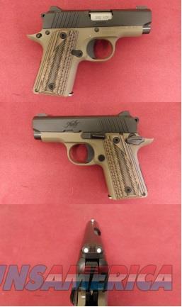 Kimnber Micro .380 ACP Desert Night Guns > Pistols >  Kimber of America Pistols > Micro