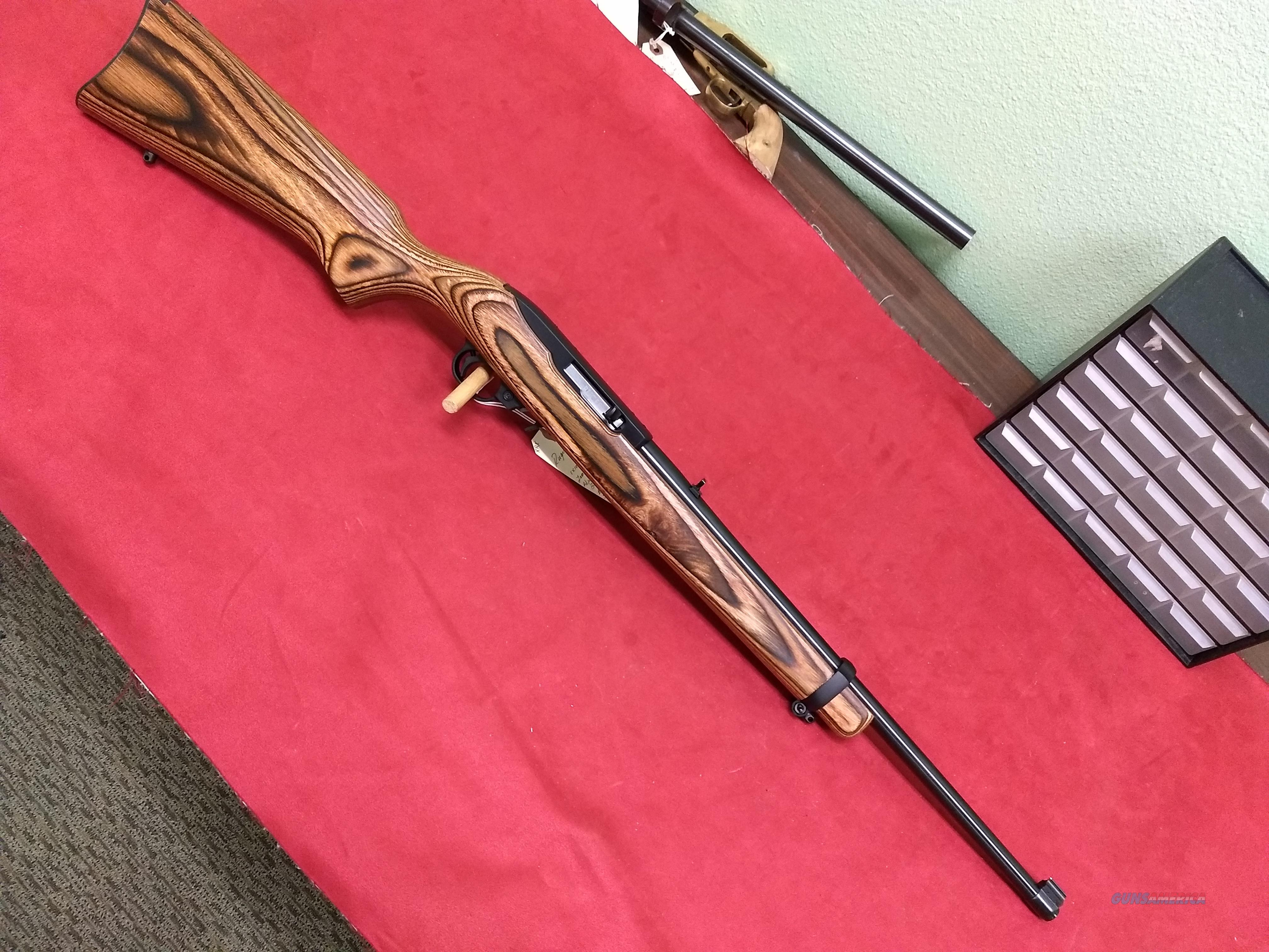 Ruger 10/22 Brown Laminate & Blued  Guns > Rifles > Ruger Rifles > 10-22