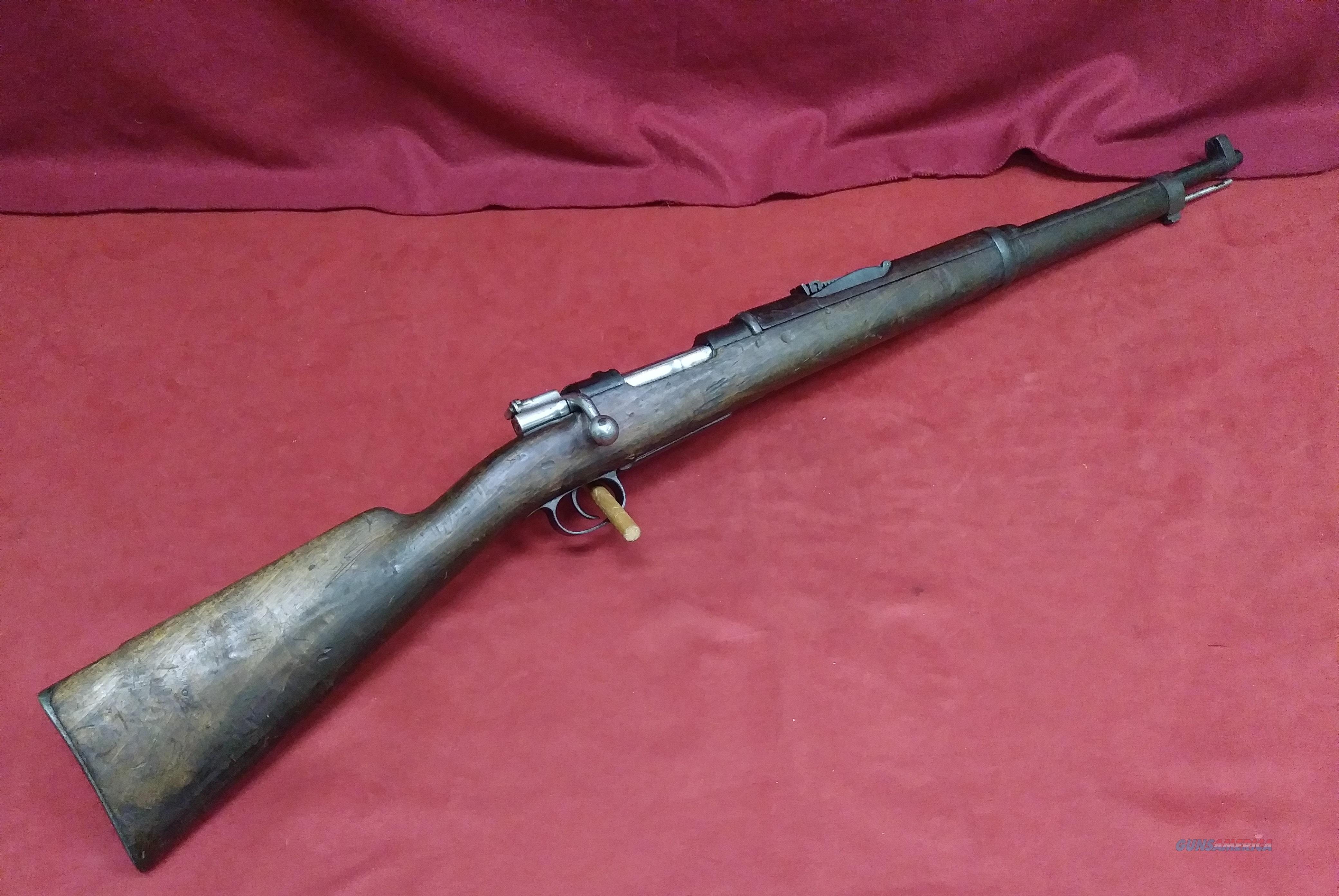 Fabrica De Armas Spanish Mauser Model 1895, 7mm Mauser  Guns > Rifles > Mauser Rifles > Spanish