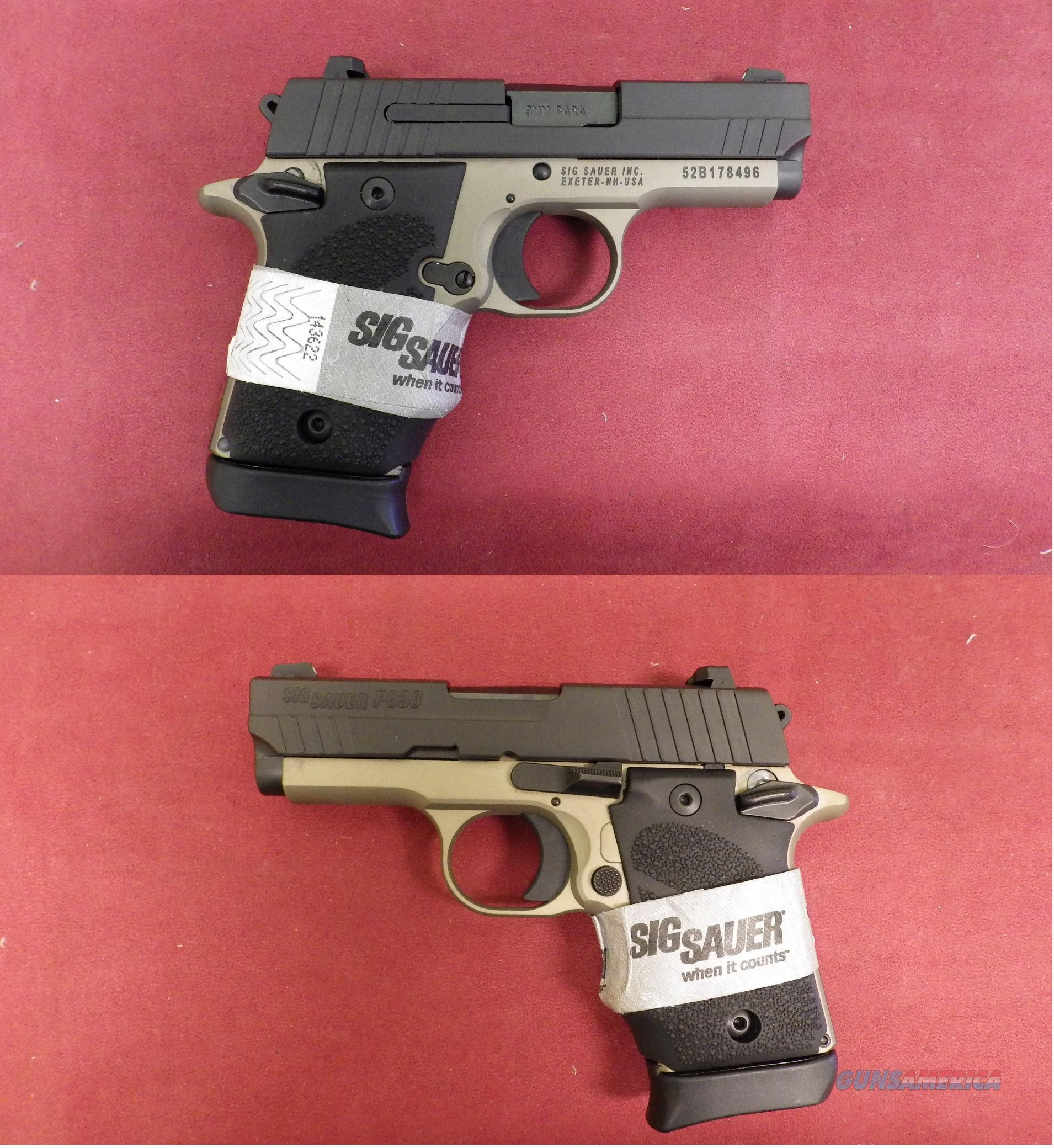 Sig Sauer P938 DB  9mm  Guns > Pistols > Sig - Sauer/Sigarms Pistols > Other
