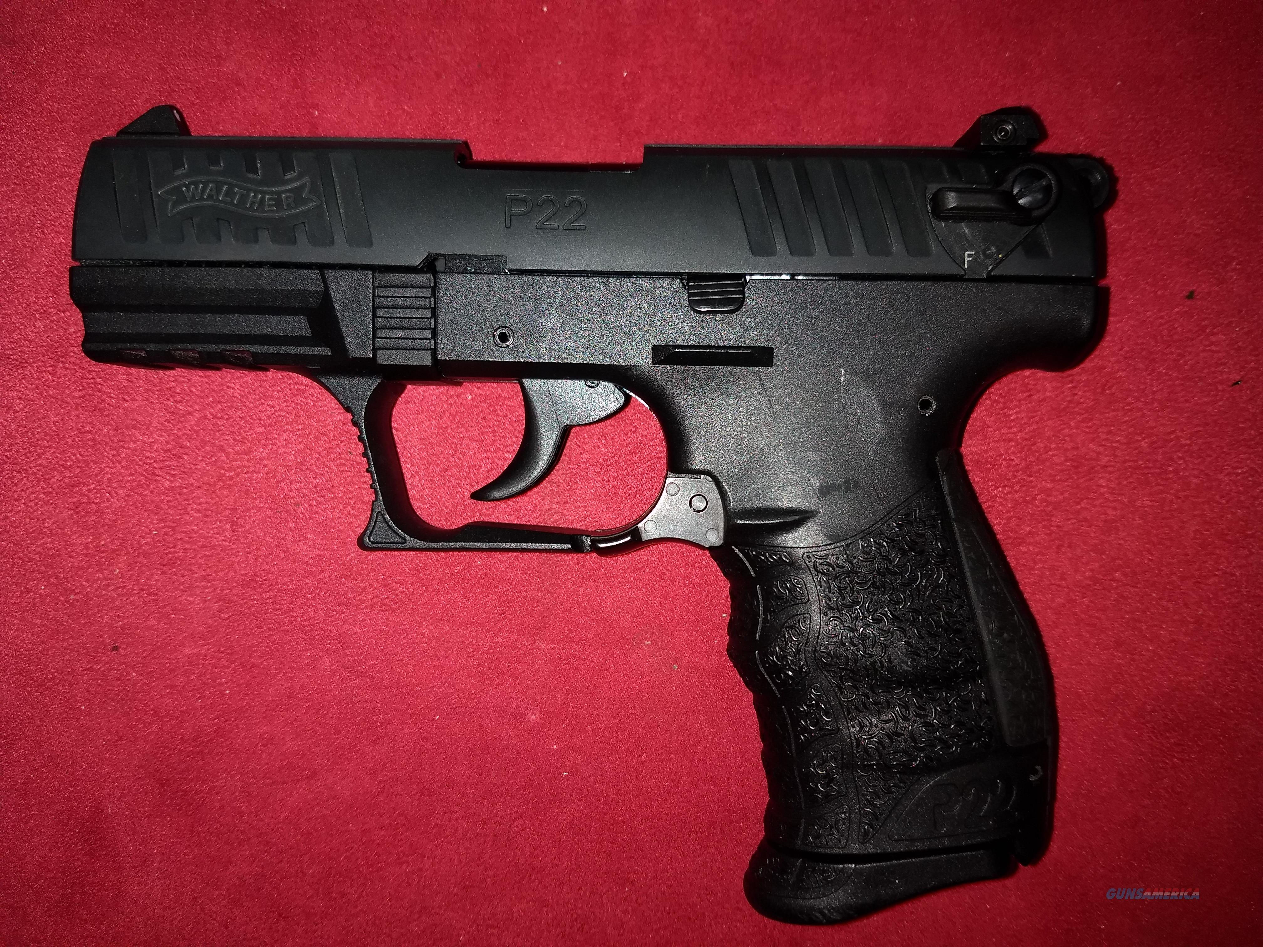 Walther P22  Guns > Pistols > Walther Pistols > Post WWII > P22