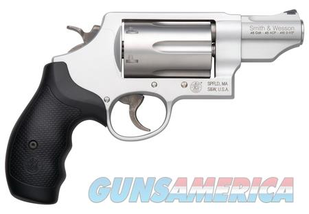 Smith & Wesson Silver Govenor .45/.410  Guns > Pistols > Smith & Wesson Revolvers > Full Frame Revolver