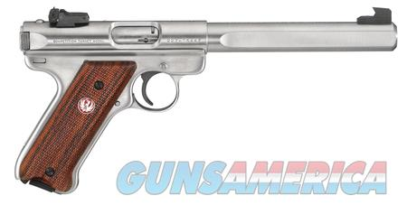 Ruger MK III Competition, Stainless, .22LR, NIB  Guns > Pistols > Ruger Semi-Auto Pistols > Mark I/II/III/IV Family