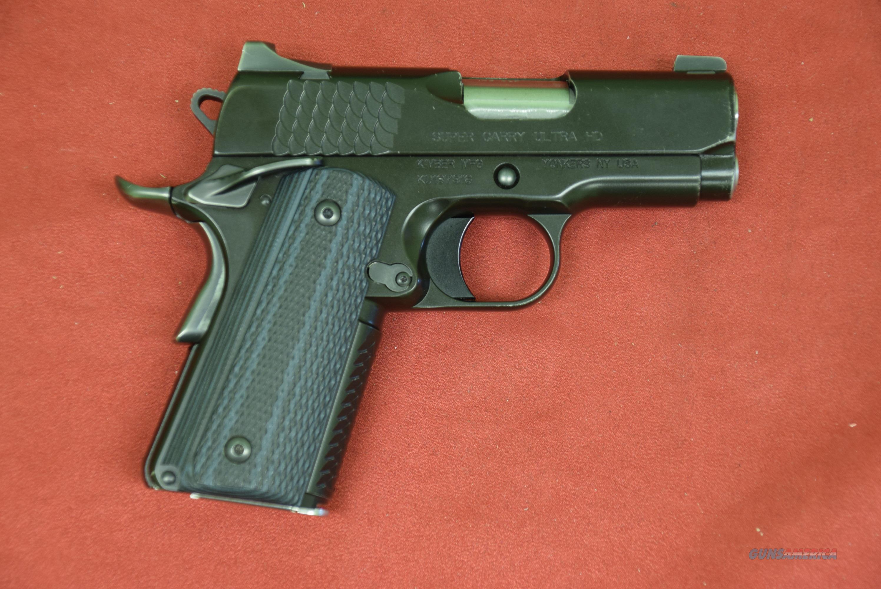 Kimber Super Carry Ultra HD, .45 ACP  Guns > Pistols > Kimber of America Pistols > 1911