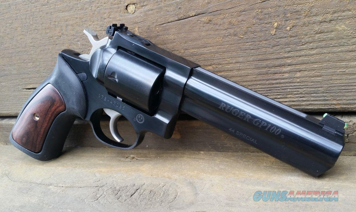 "Ruger GP100, .44 Spl, 5"" Barrel, 5 Shot, NIB  Guns > Pistols > Ruger Double Action Revolver > GP100"