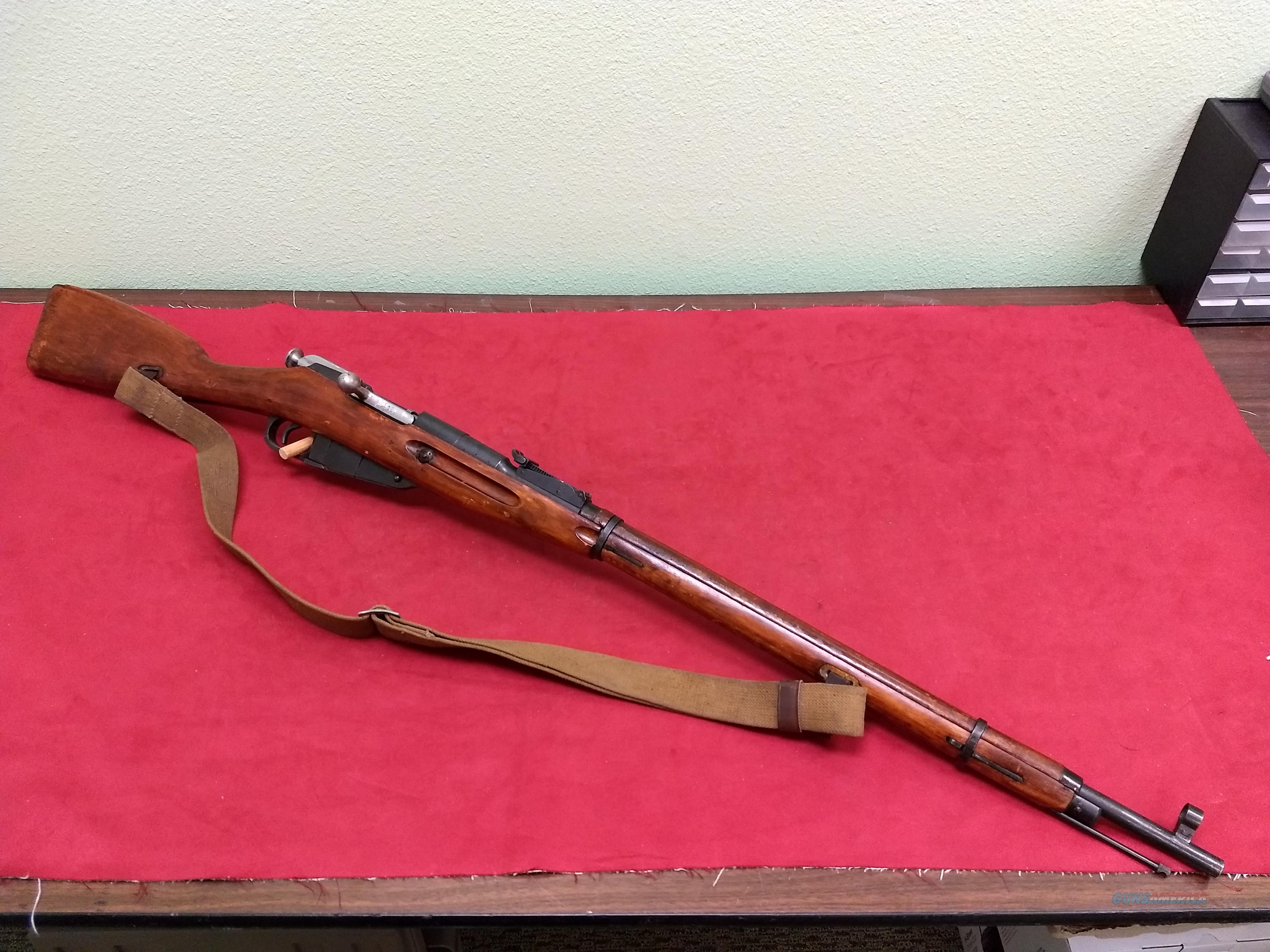 Russian (Tula) Mosin Nagant 91/30 Rifle, 7.62x54R, ALL MATCHING!  Guns > Rifles > Military Misc. Rifles Non-US > Other