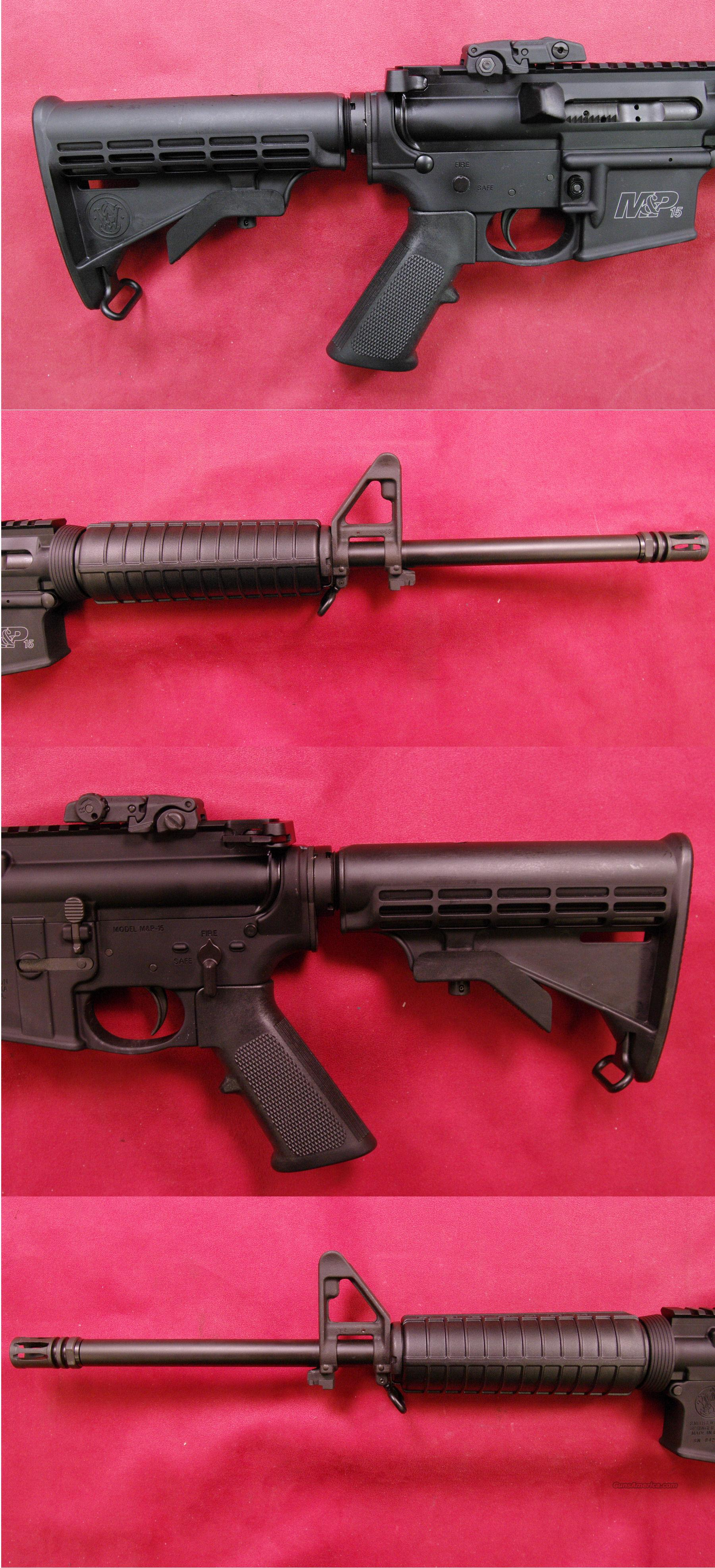 Smith & Wesson M&P 15 Sporter .223 Rem  Guns > Rifles > Smith & Wesson Rifles > M&P