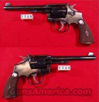 S&W MODEL K-22  OUTDOORSMAN 22LR  Guns > Pistols > Smith & Wesson Revolvers > Full Frame Revolver