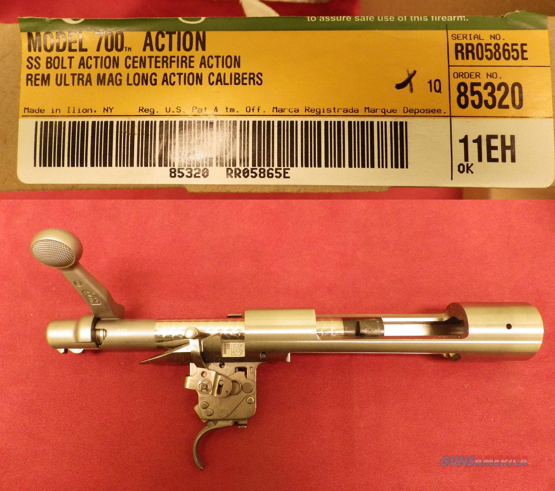 Remington 700 Long Action Ultra Magnum, RH, Stainless Steel, NIB  Guns > Rifles > Remington Rifles - Modern > Model 700 > Sporting