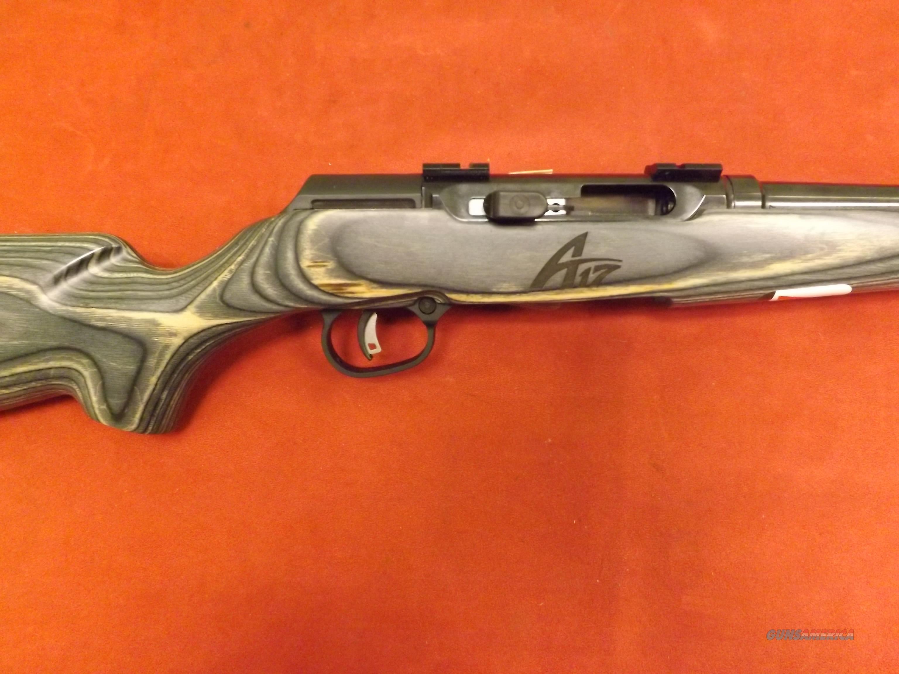 A17 TARGET SPORTER LAMINATE 17 HMR cal  Guns > Rifles > Savage Rifles > Rimfire