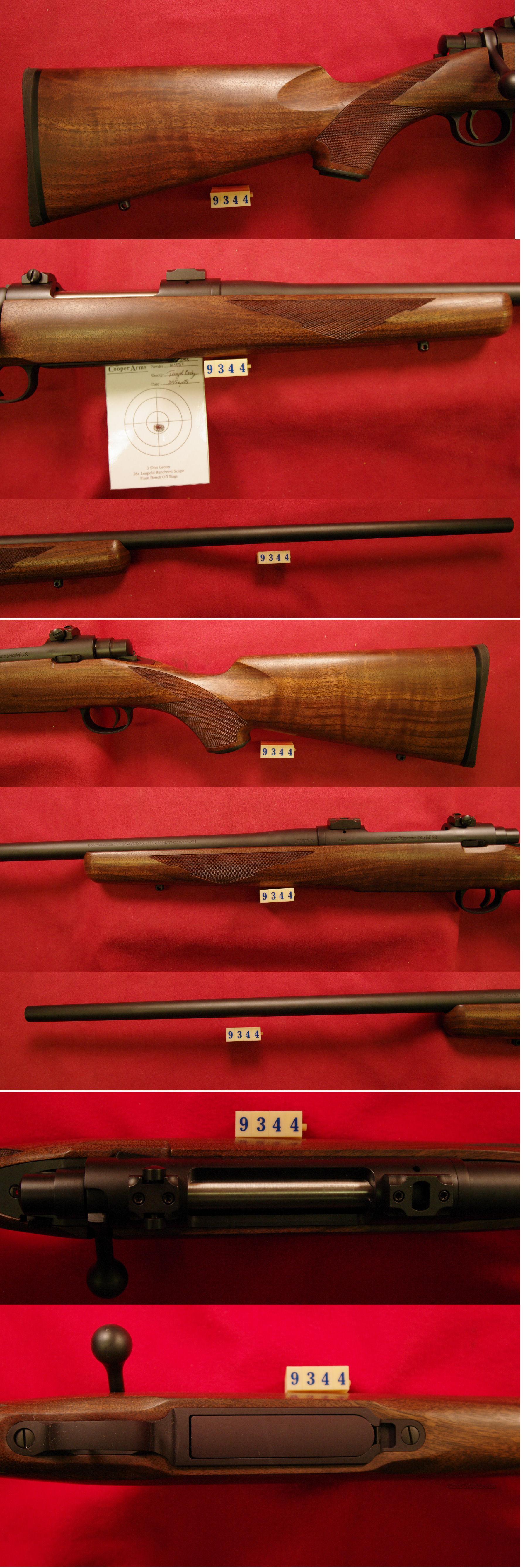 Cooper Model 52 270 Winchester *MUST CALL*  Guns > Rifles > Cooper Arms Rifles