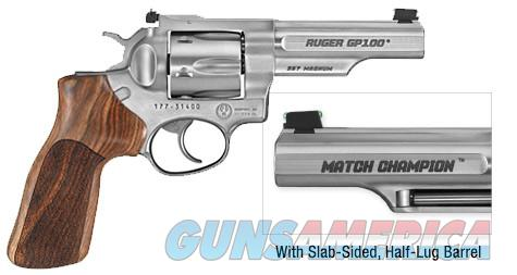 Ruger GP-100 Match Champion .357 Mag. *MUST CALL*  Guns > Pistols > Ruger Double Action Revolver > Security Six Type