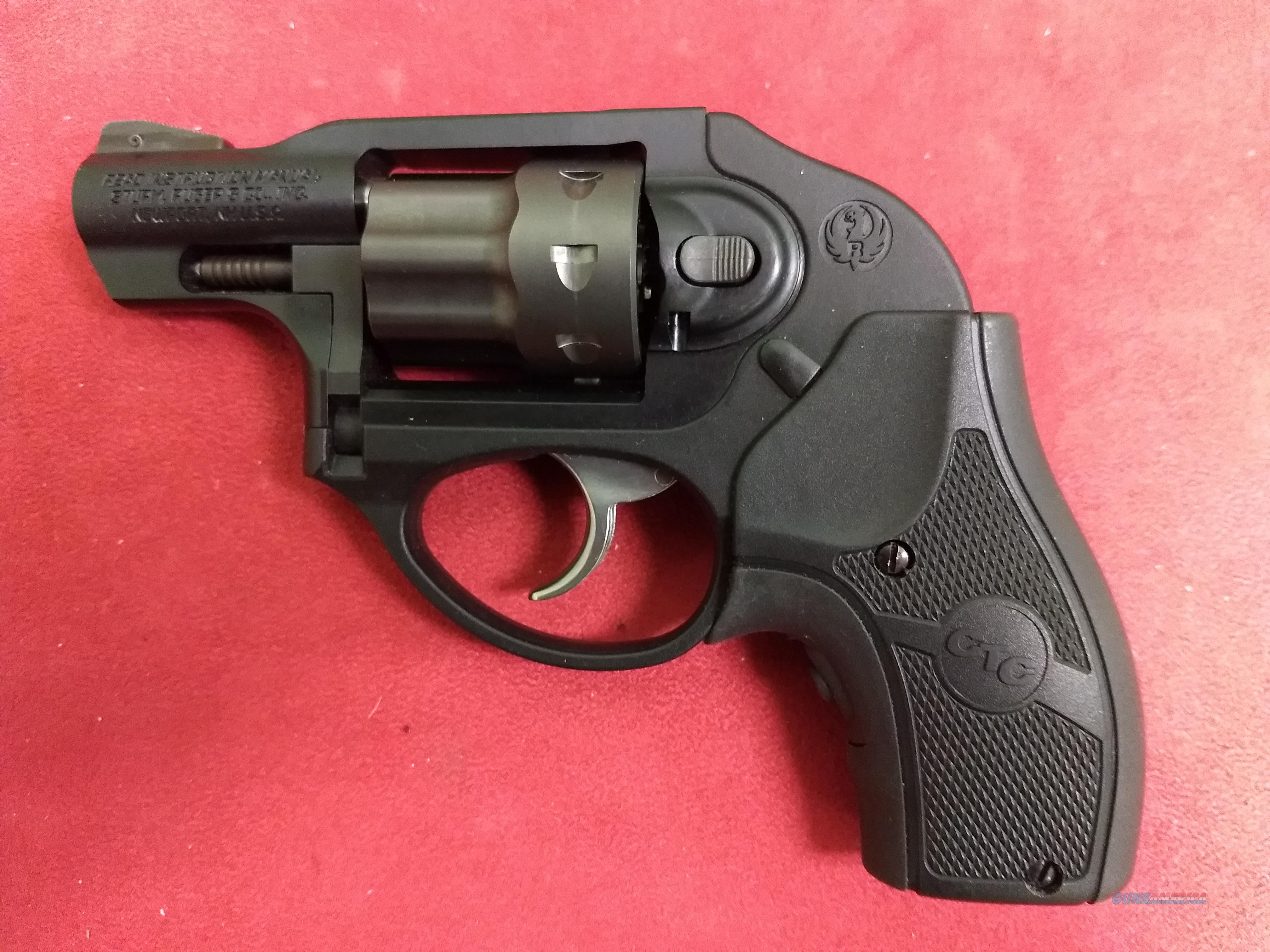 Ruger LCR w/ Crimson Trace laser grips, .22 LR, NEVER FIRED!  Guns > Pistols > Ruger Double Action Revolver > LCR