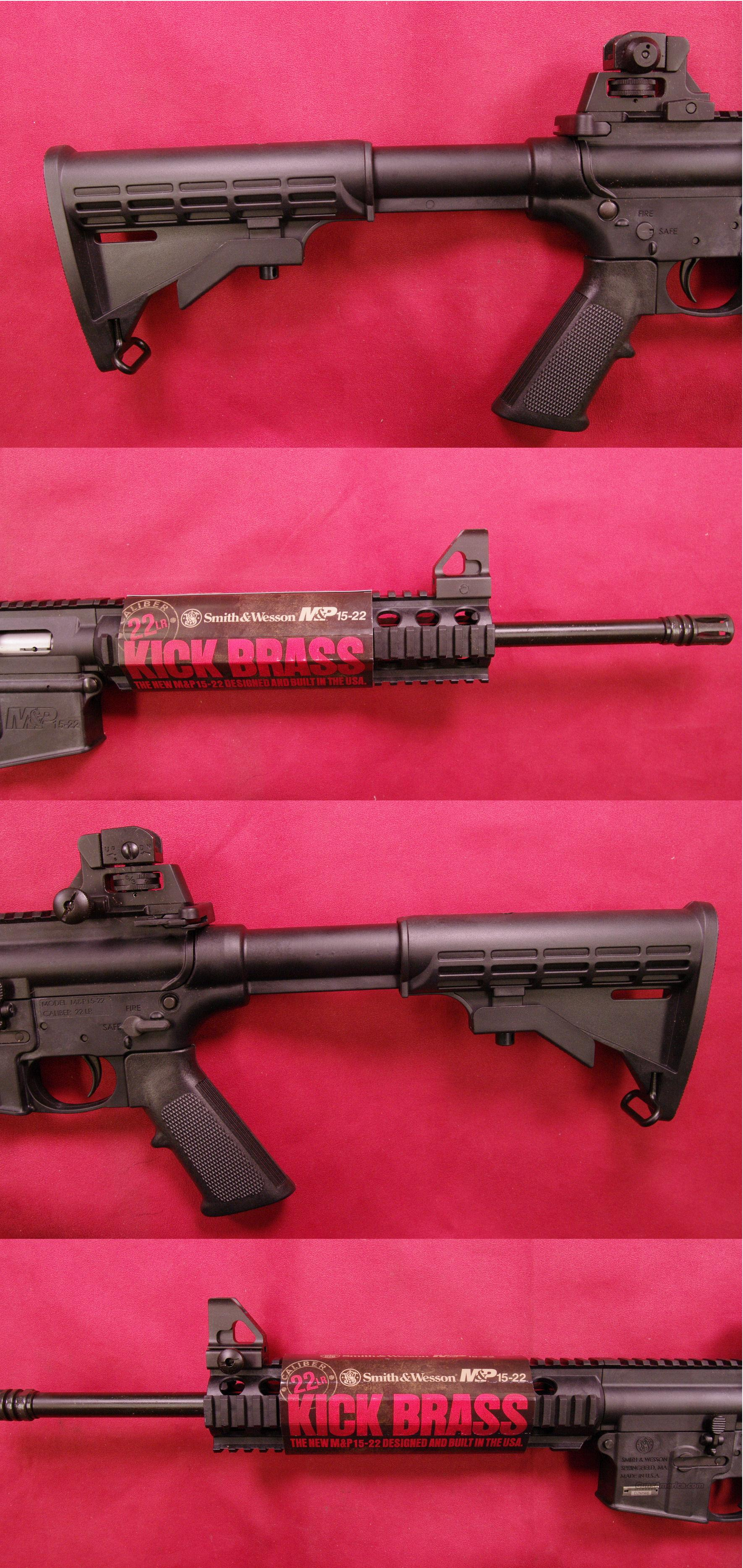 Smith & Wesson M&P-15-22 .22 long Rifle*MUST CALL*  Guns > Rifles > Smith & Wesson Rifles > M&P