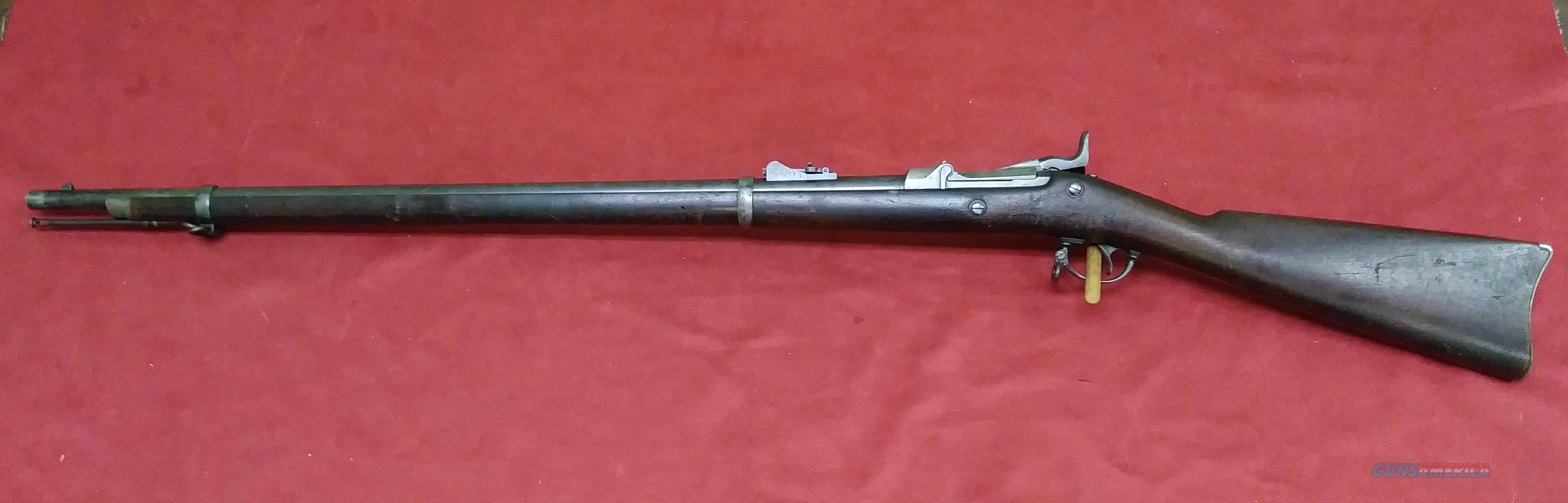 US Springfield Model 1878, .45-70 gov't  Guns > Rifles > Pedersoli Rifles > Trapdoor Type