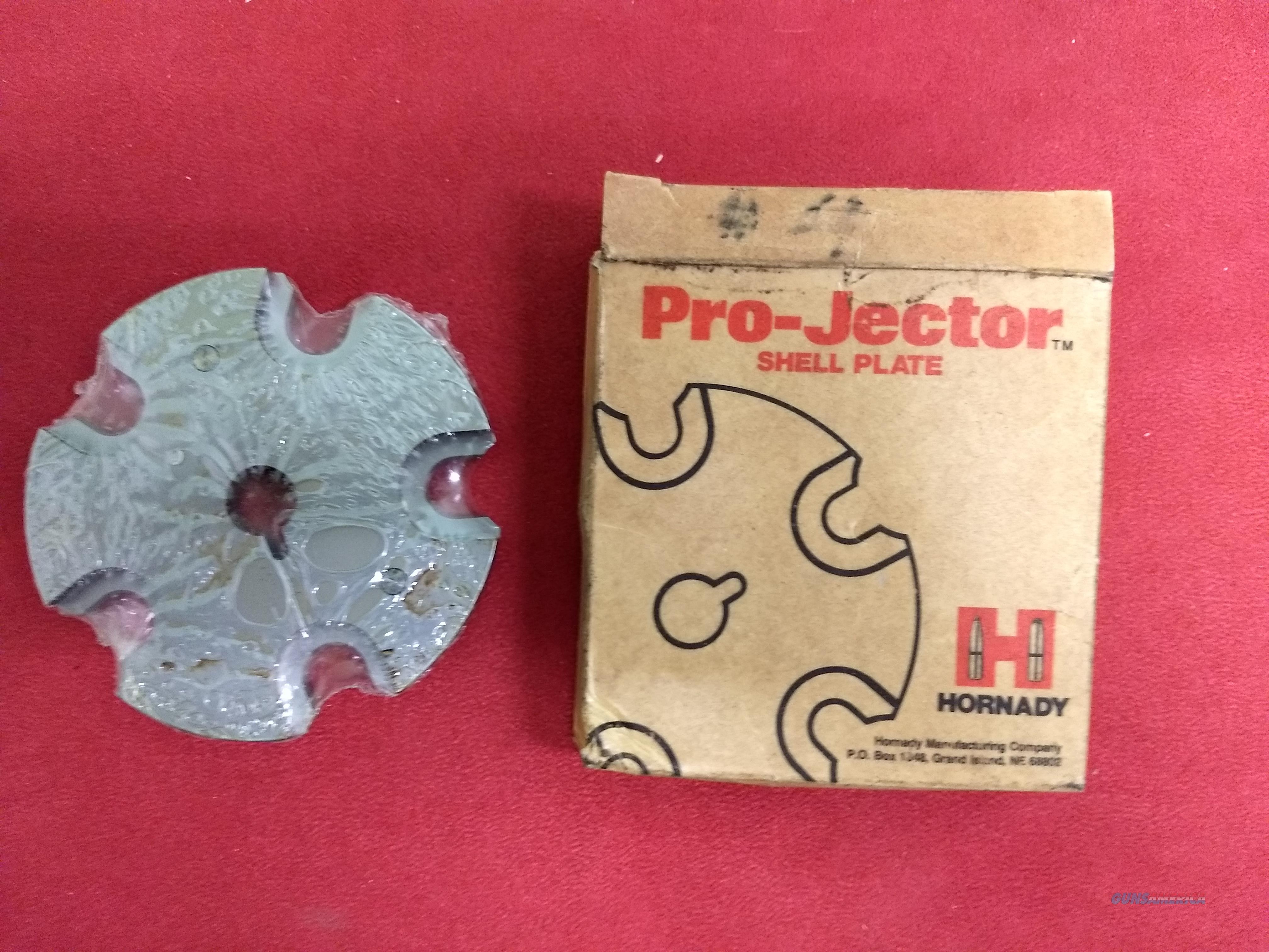 Hornady Pro-Jector Press #4 Shell Plate, NIB  Non-Guns > Reloading > Equipment > Metallic > Misc