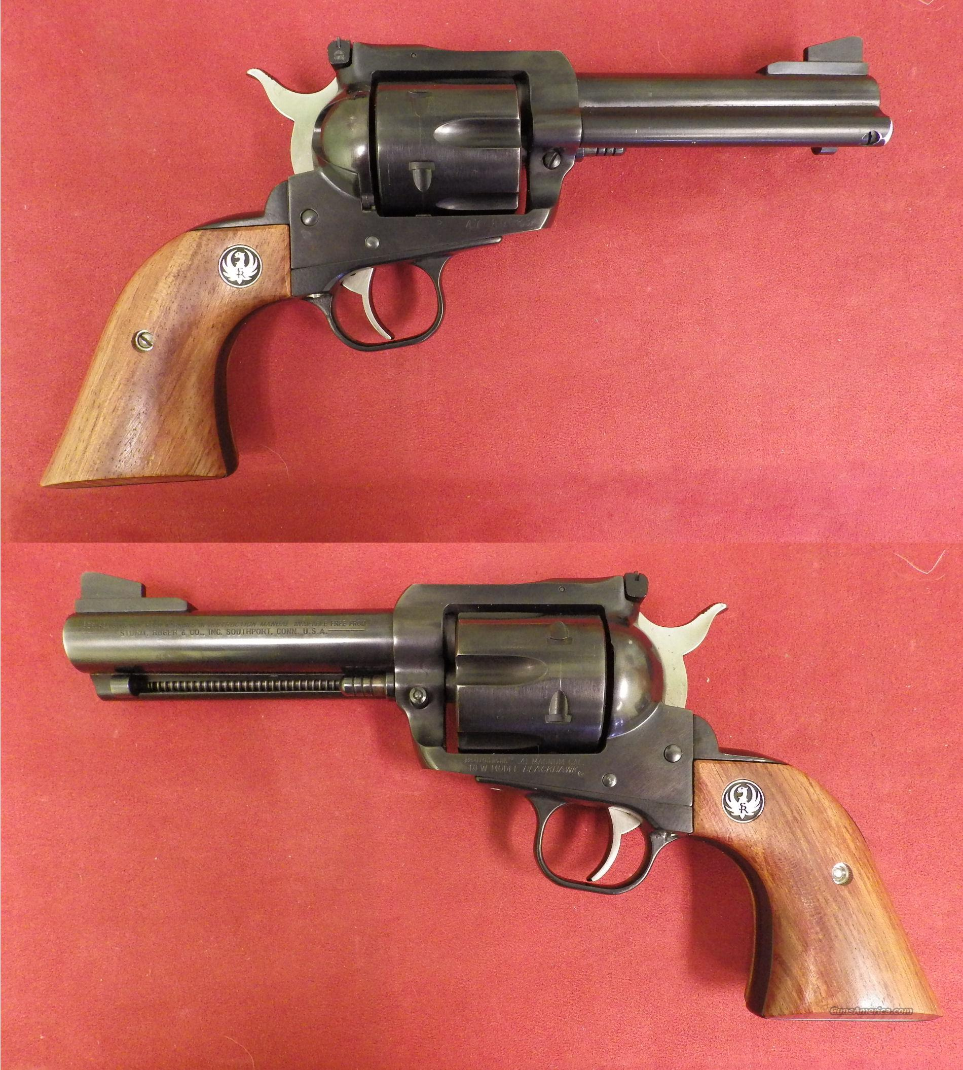 Ruger .41 Magnum 4 5/8in.  *MUST CALL*  Guns > Pistols > Ruger Single Action Revolvers > Blackhawk Type