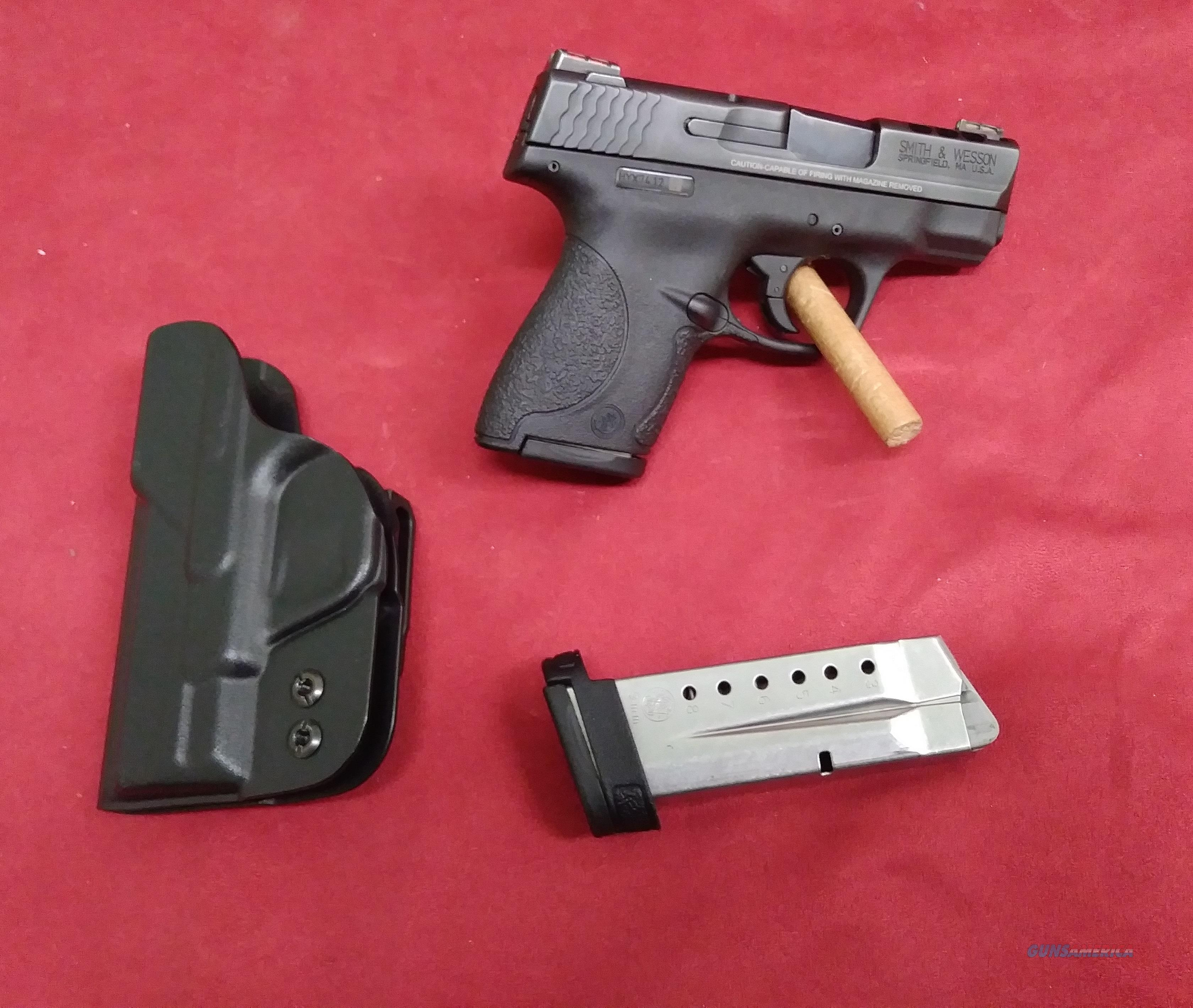 Smith & Wesson M&P9 Shield, Performance Center, 9mm  Guns > Pistols > Smith & Wesson Pistols - Autos > Shield